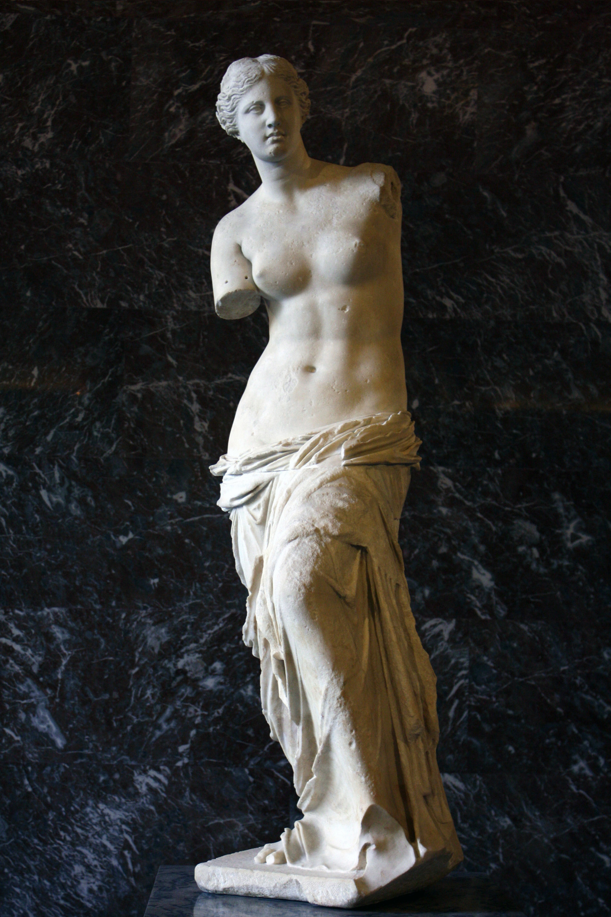 Masterpieces of unknown artists. Venus Milos