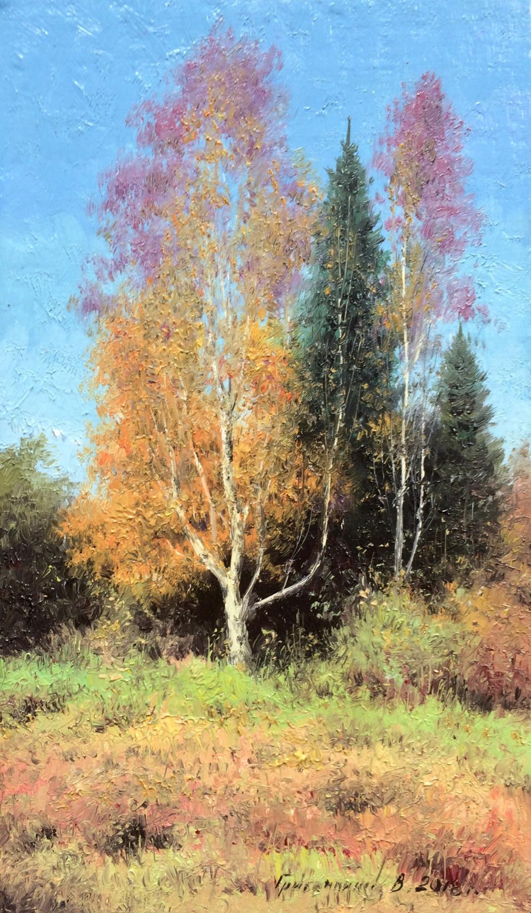 Vasily Ivanovich Gribennikov. Autumn corner