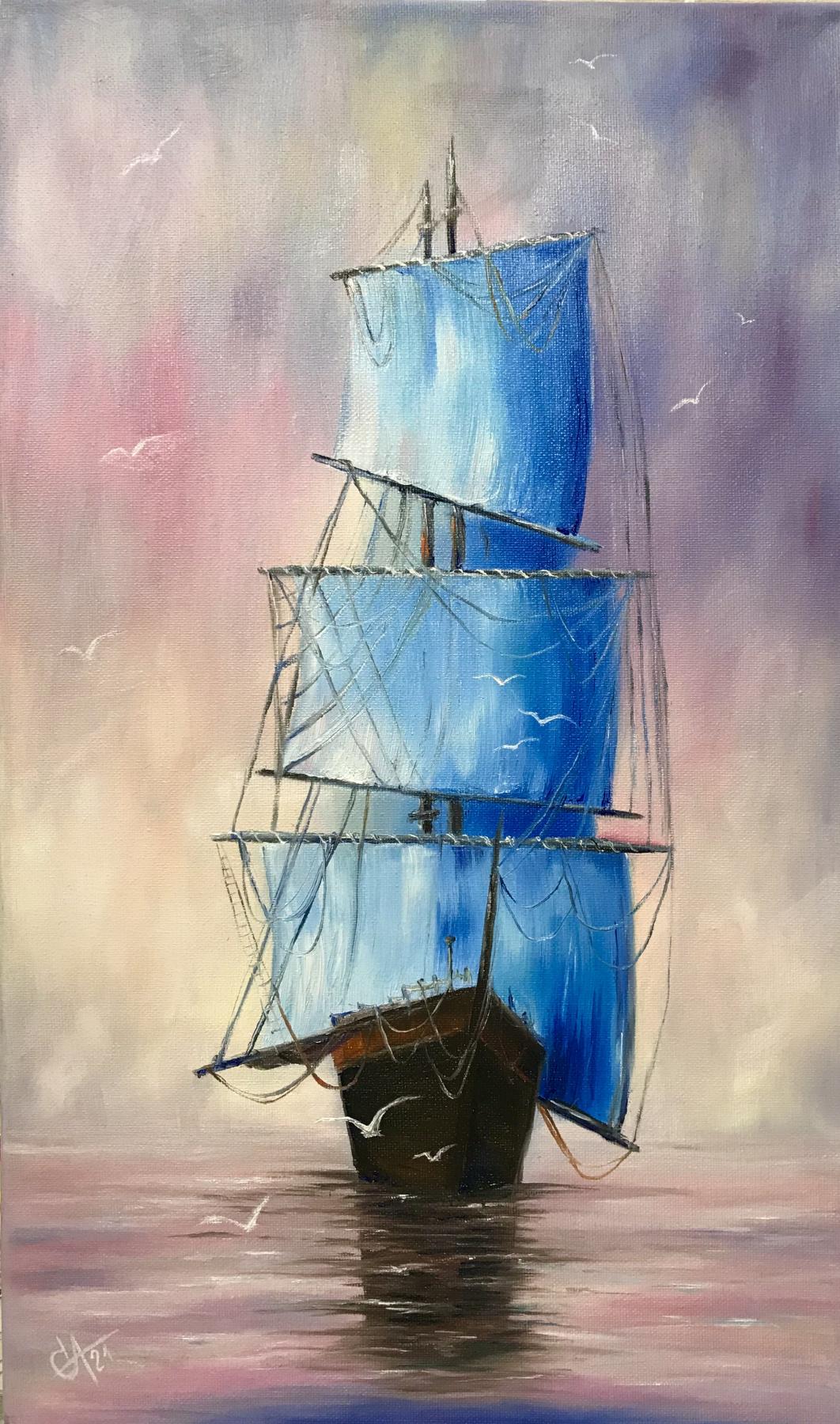Svetlana Ivanova. Blue sails