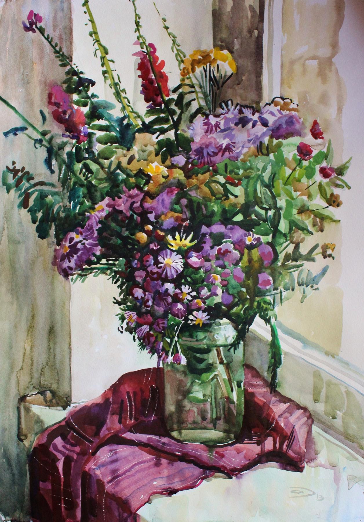 Alexander Dmitrievich Svistunov. Flowers
