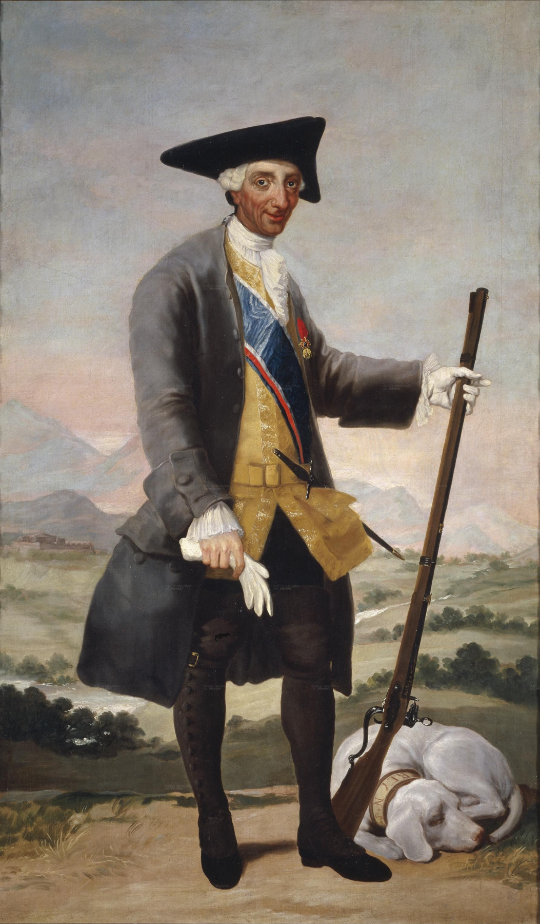 Francisco Goya. Charles III in a Hunting Dress