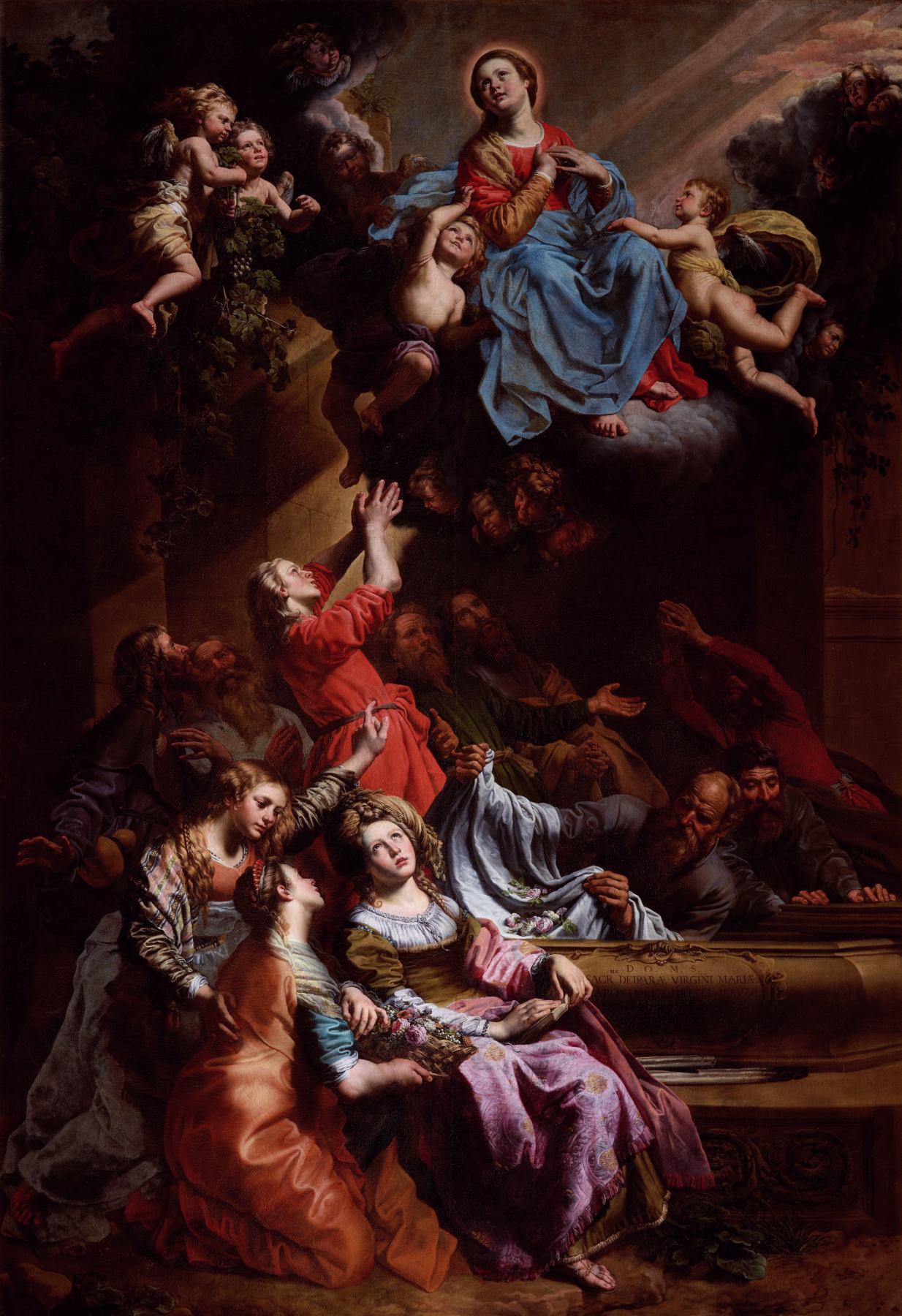 Theodore van loon. The Assumption of the Virgin Mary