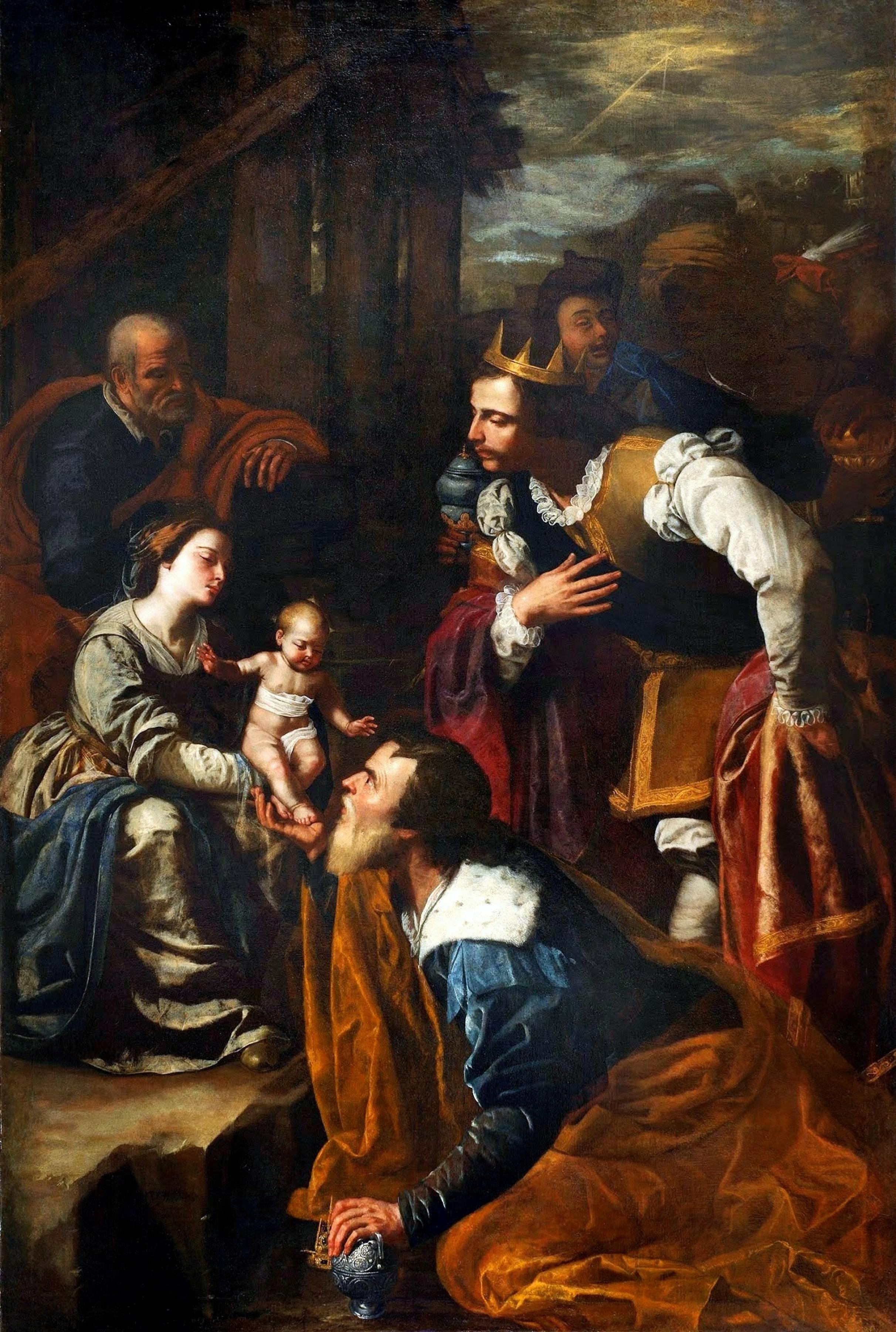 Adoration of the Magi by Artemisia Gentileschi History