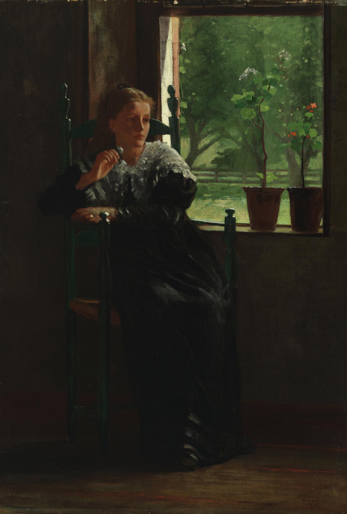 Winslow Homer. Window