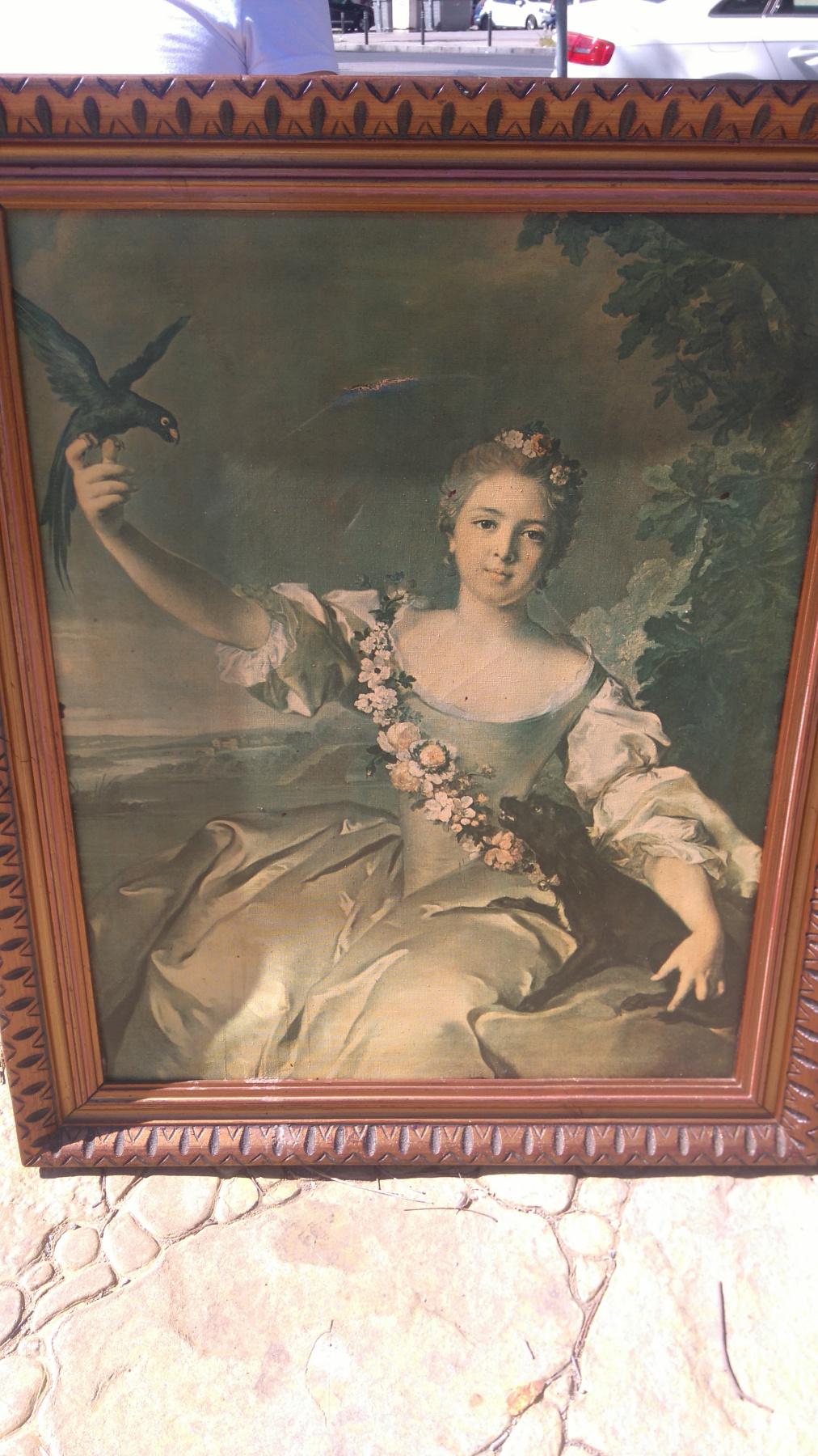 Jean Nattier Marc. Matilda de Canise, Marquis D'Antine