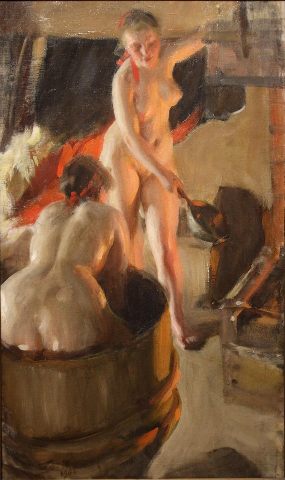 Anders Zorn. Galenika girls in the bath