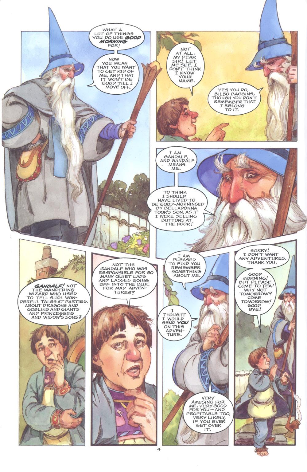 David Monogram. The hobbit 004
