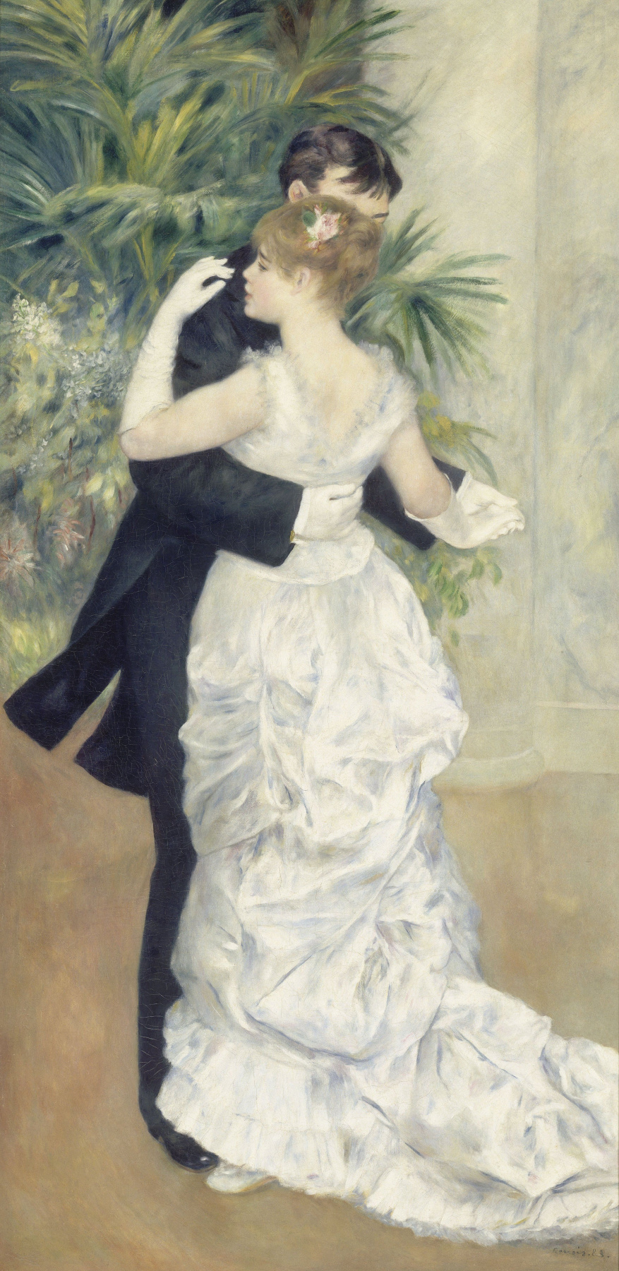 Пьер Огюст Ренуар. Танец в городе