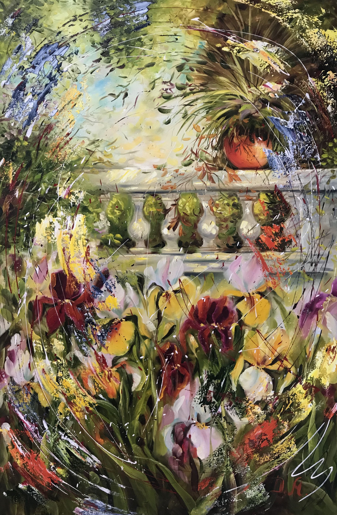 Диана Владимировна Маливани. A Garden in Paris
