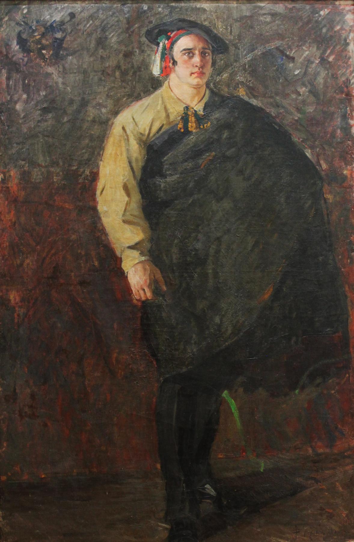 Fedor Grigorievich Krichevsky. Portrait of Myasoedov
