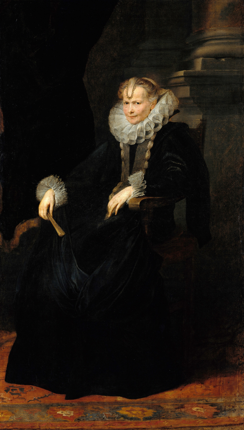 Anthony van Dyck. Portrait of a Genoese lady
