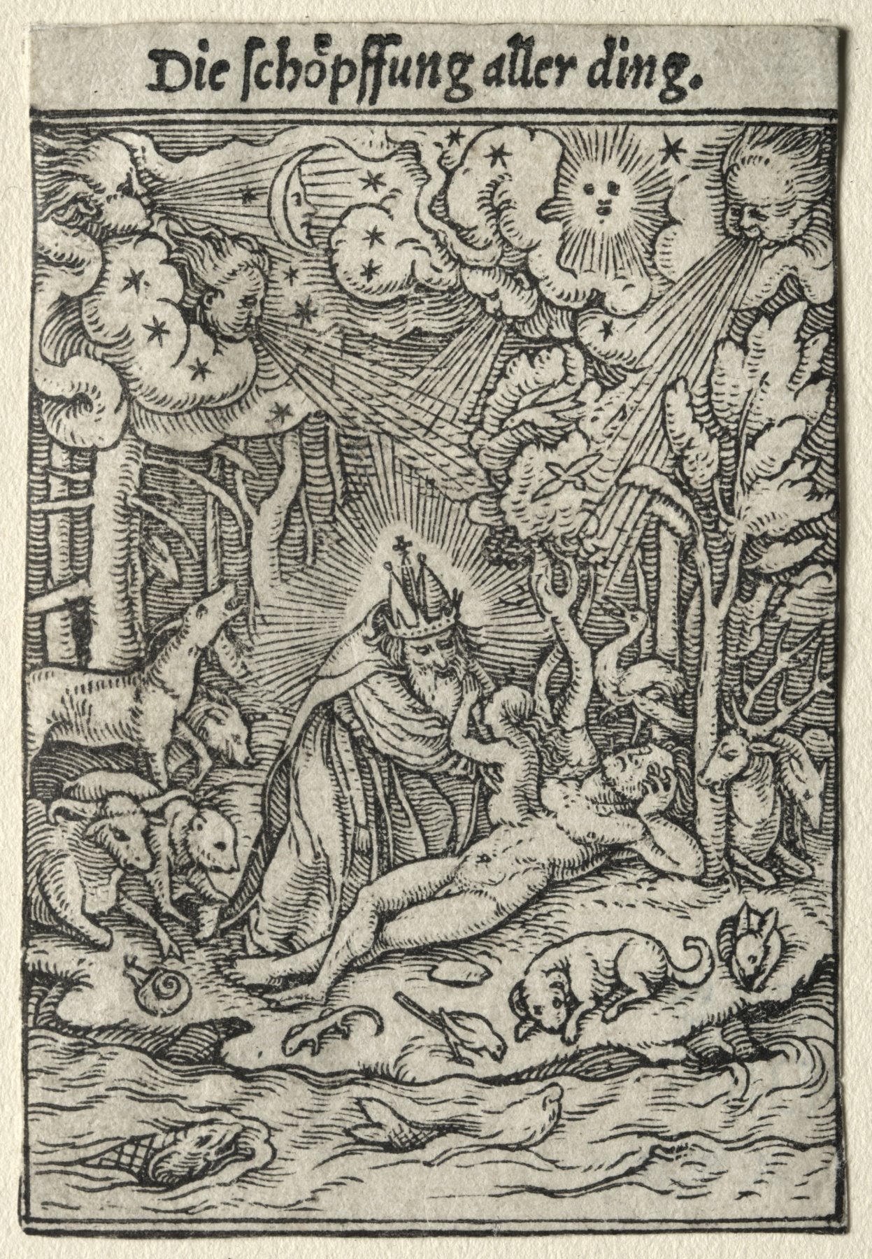 "Hans Holbein the Younger. World creation. Series ""Dance of Death"""