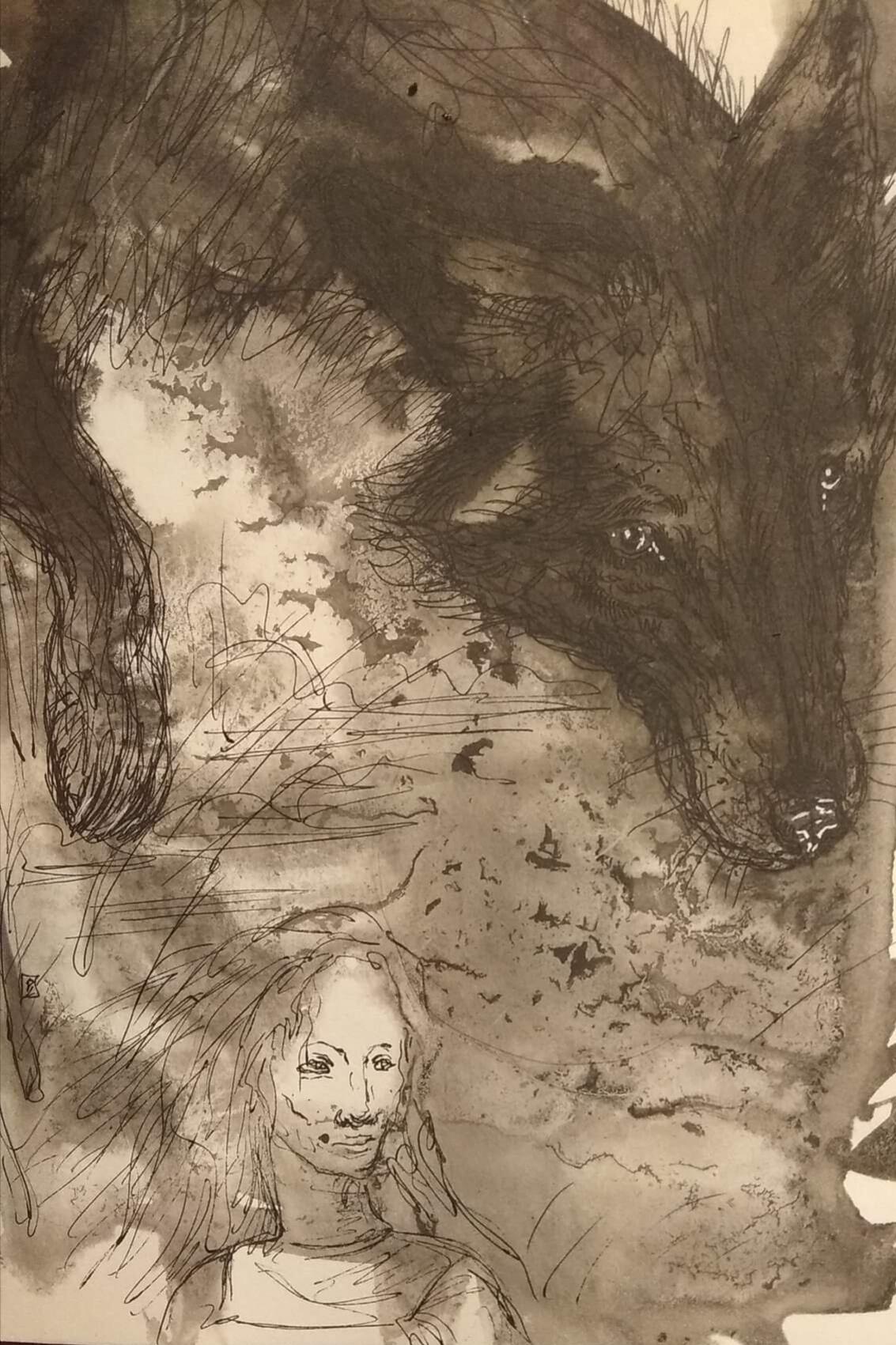 Ирина Михайловна Новикова. The story of the girl and the wolf