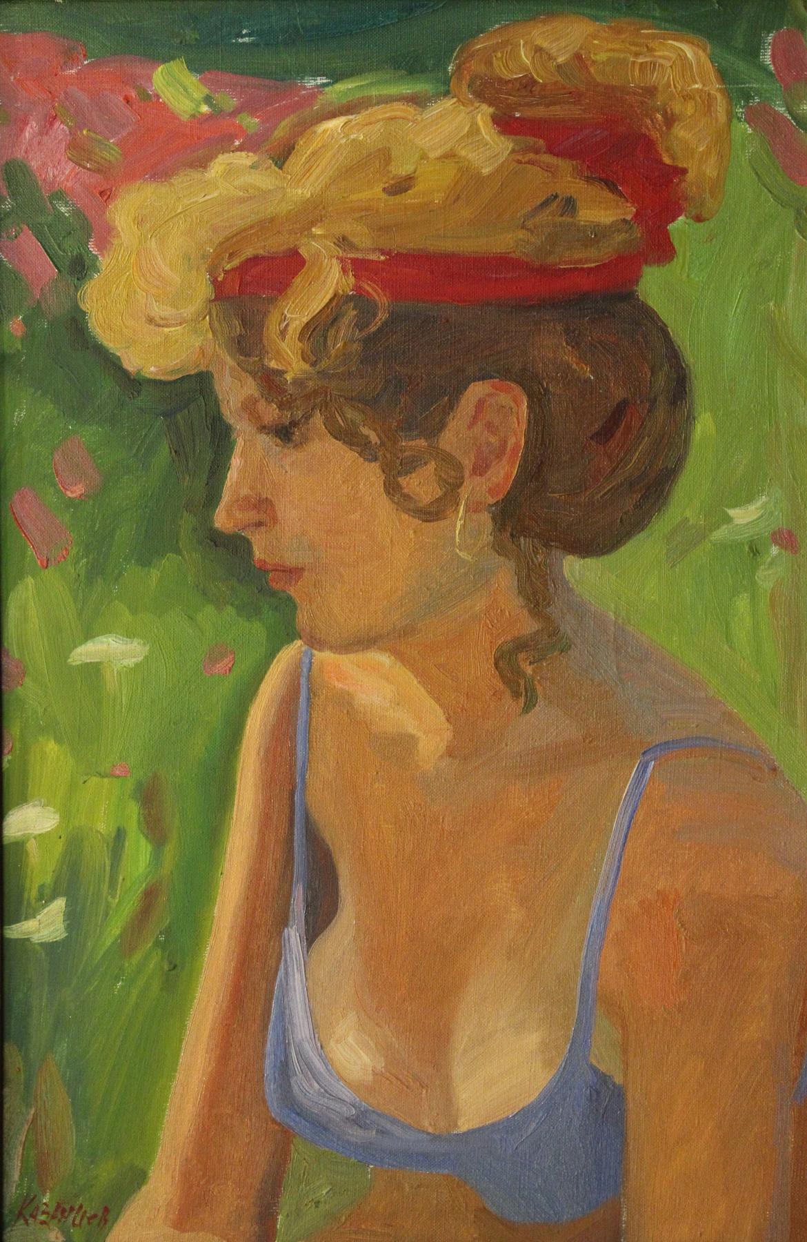 Eugene Alexandrovich Kazantsev. Portrait of Tatiana.