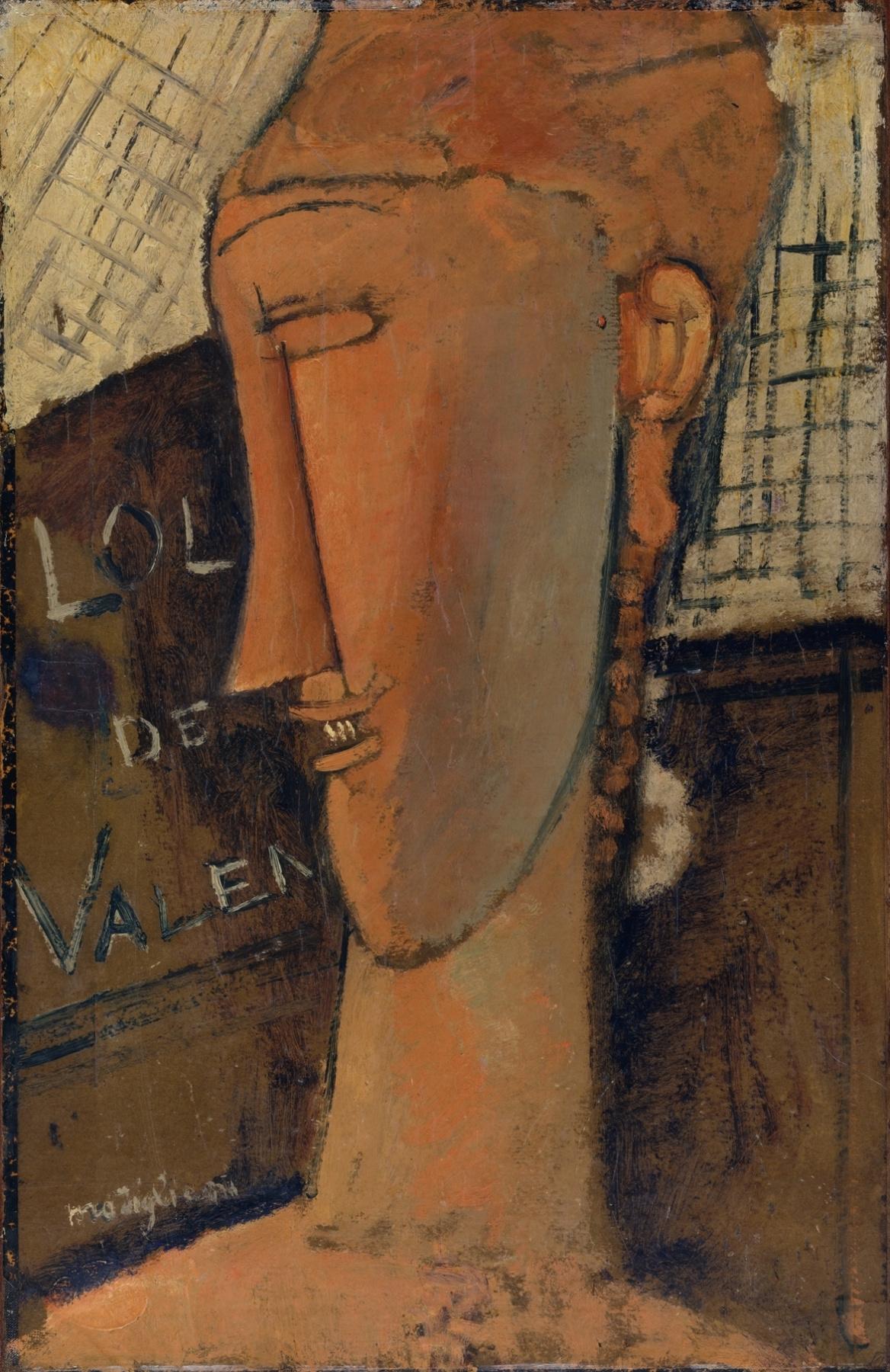 Amedeo Modigliani. Lola de valence