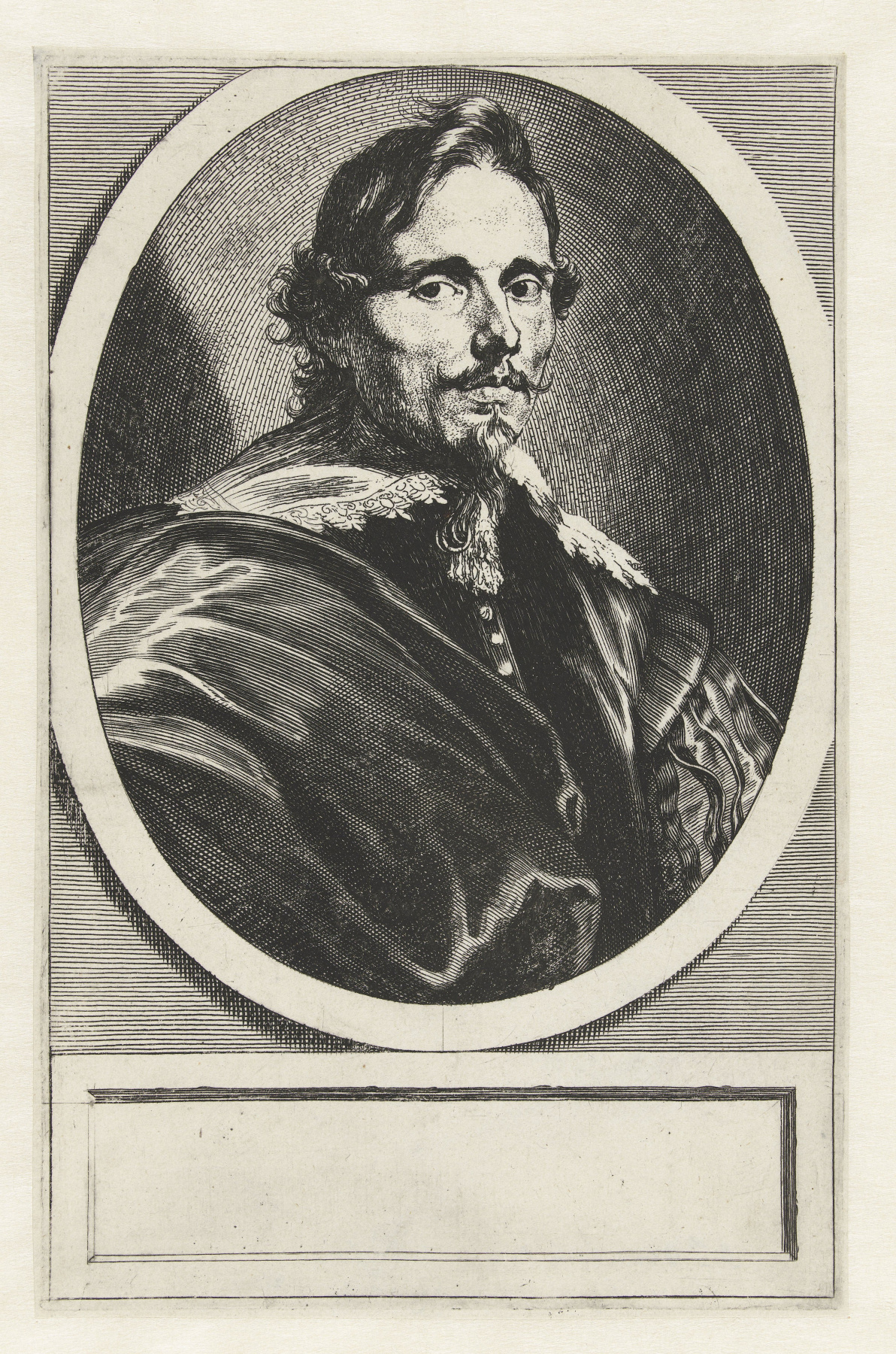 Anthony van Dyck. Portrait of a collector and diplomat, Philip Le Roy
