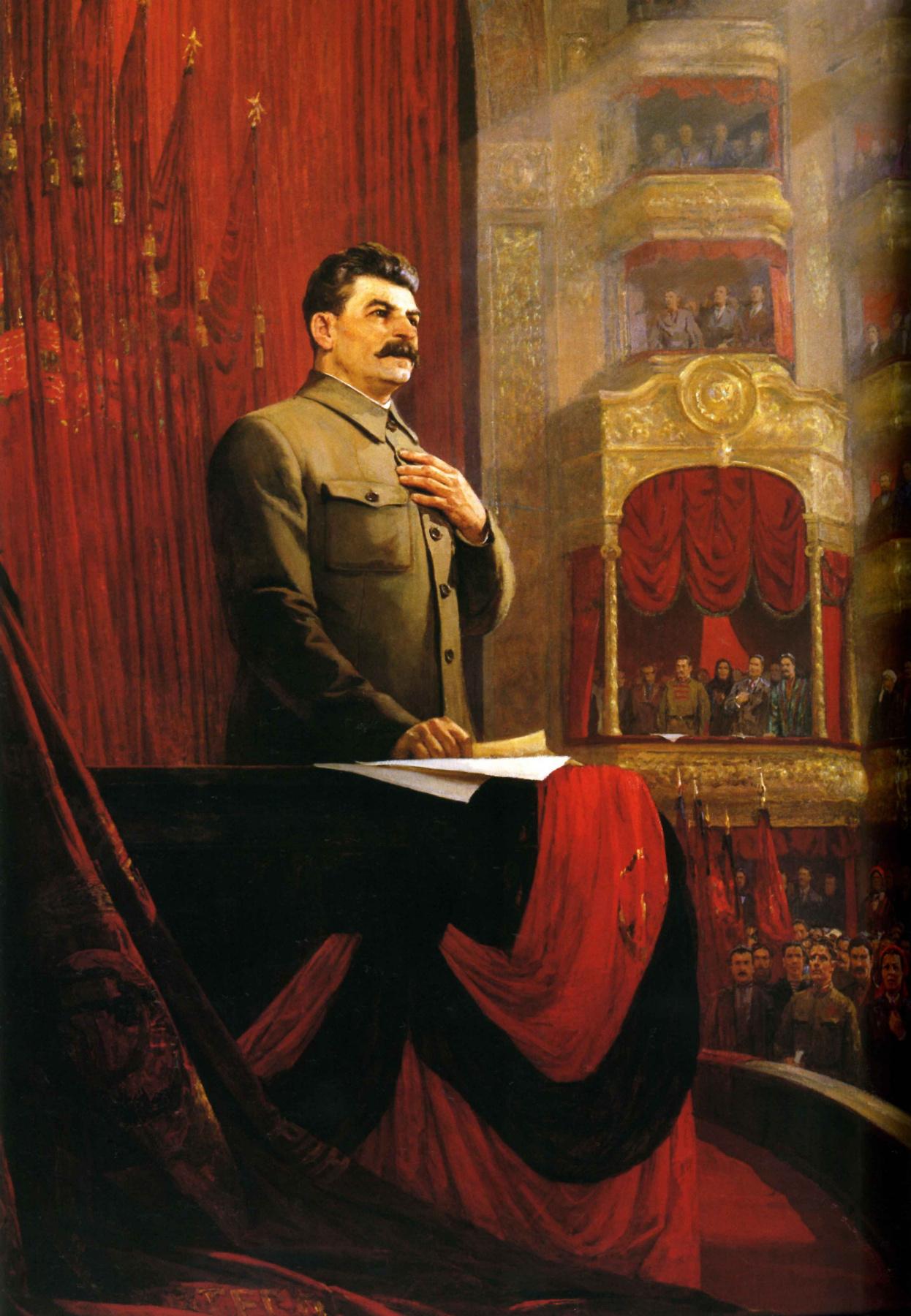 Fedor Pavlovich Reshetnikov. The great oath (Stalin's Speech at the II all-Russian Congress of Soviets on 26 January 1924)
