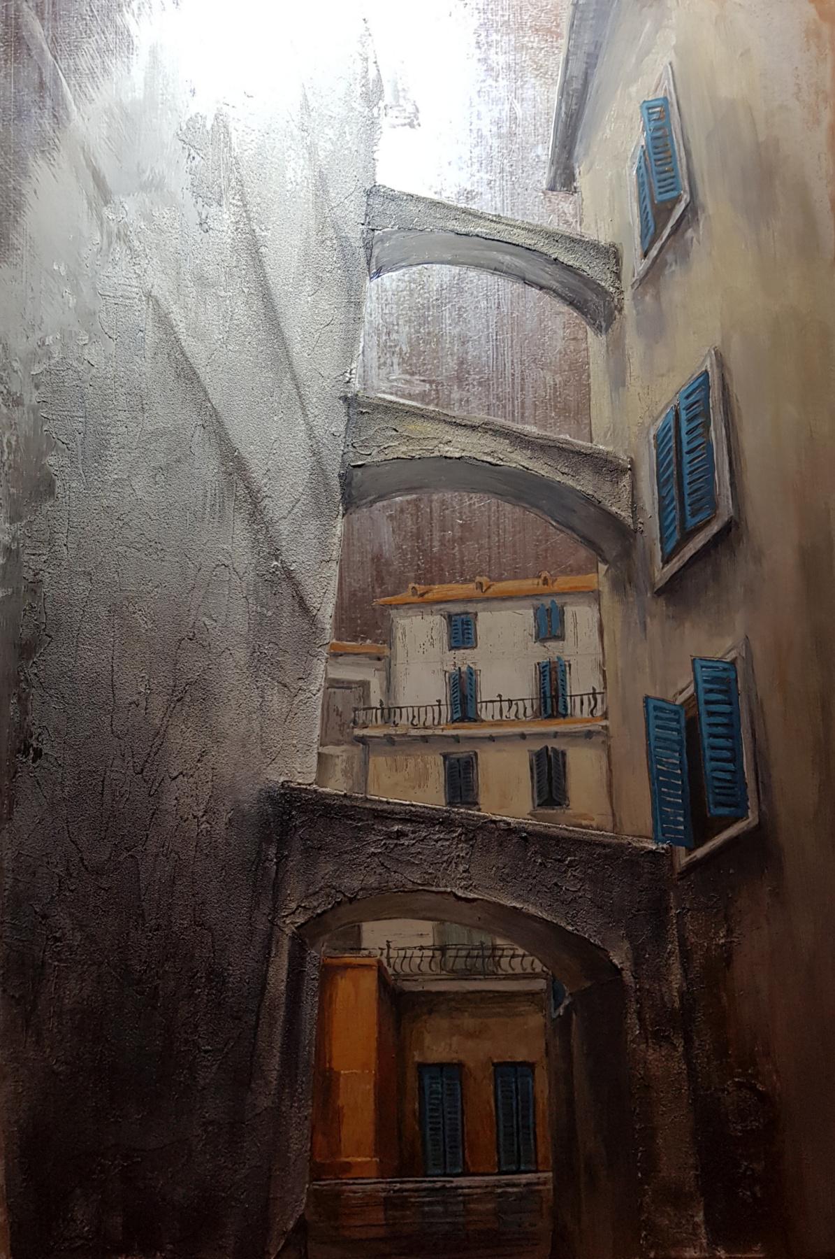 Larisa Lomakina. Old city