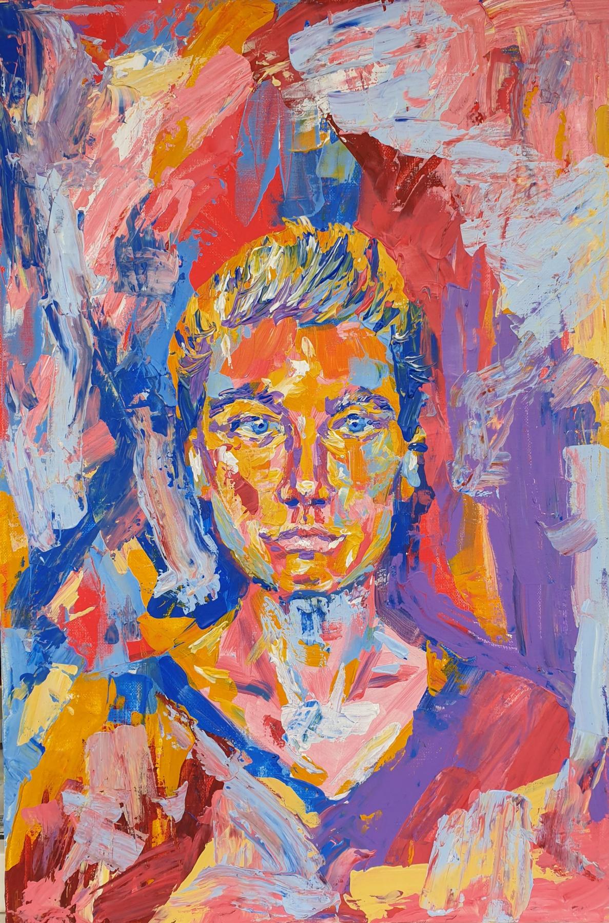 Anastasia Valerievna Koreshkova. Self-portrait