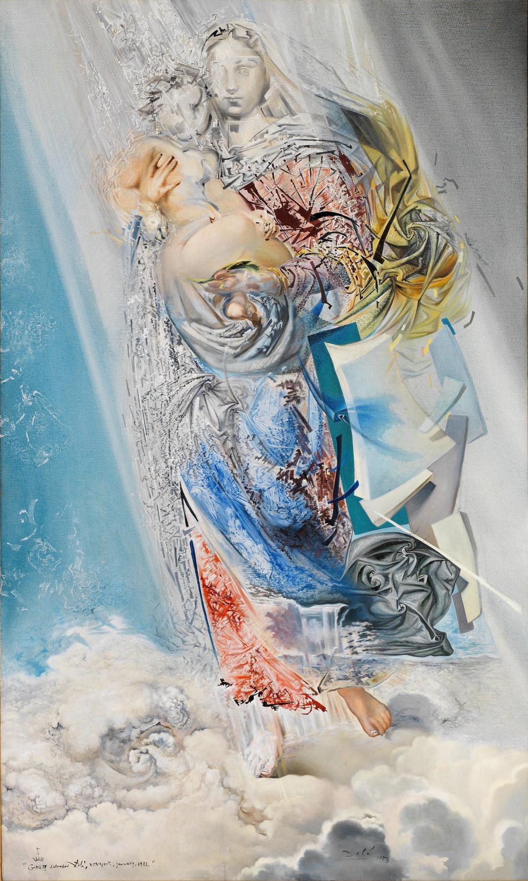 Salvador Dali. Cosmic Madonna