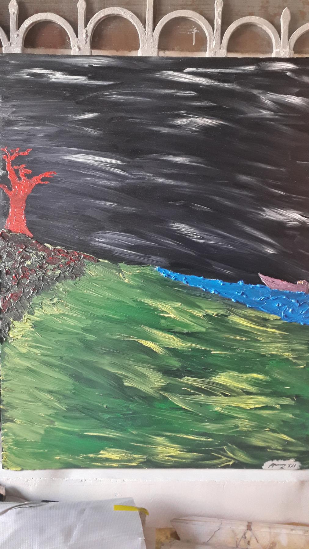 Artak Rubenovich Ayvazyan. Storm