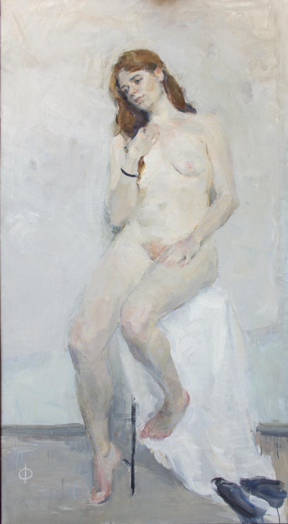 Samir Rakhmanov. Nude on White