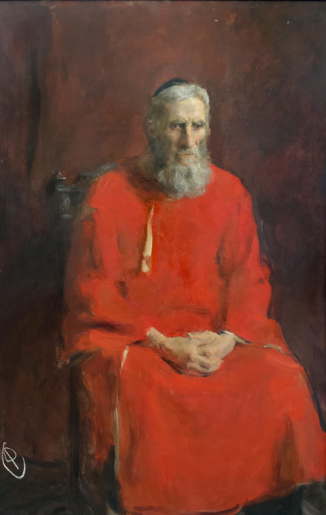 Samir Rakhmanov. Old Man in Red