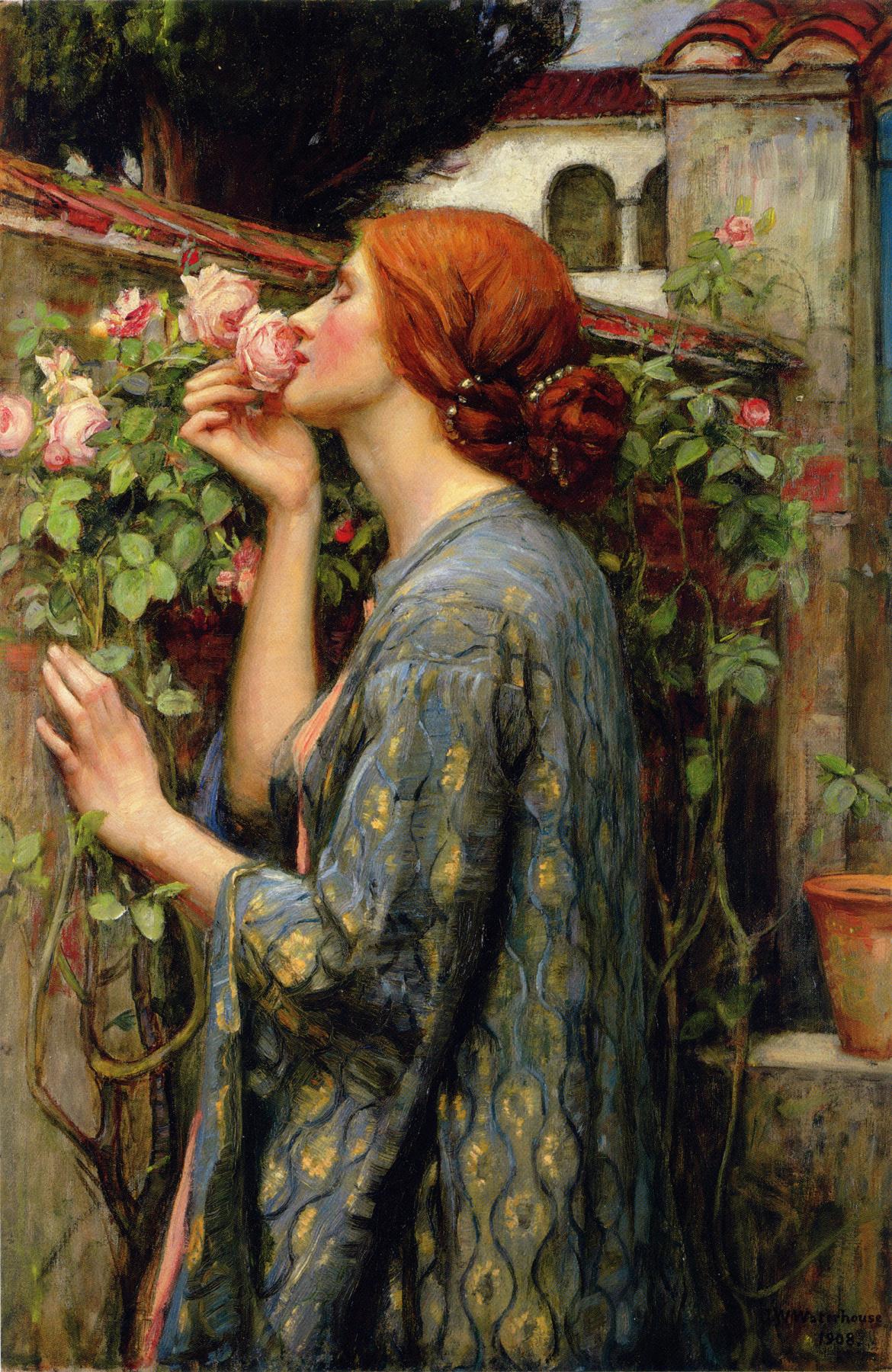 John William Waterhouse. My sweet rose (Soul of rose)