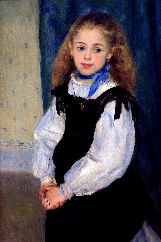 Pierre-Auguste Renoir. Portrait of Mademoiselle Legrand