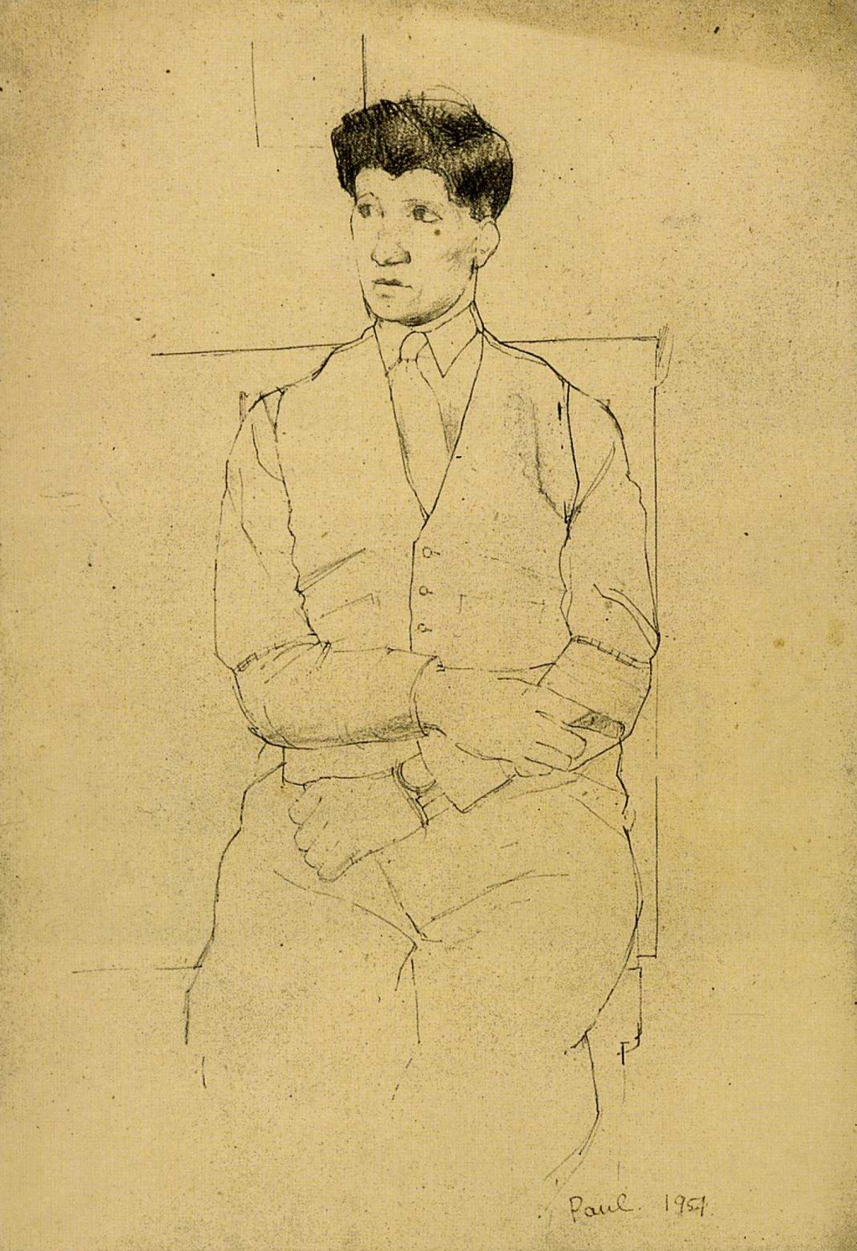 David Hockney. Paul Hockney