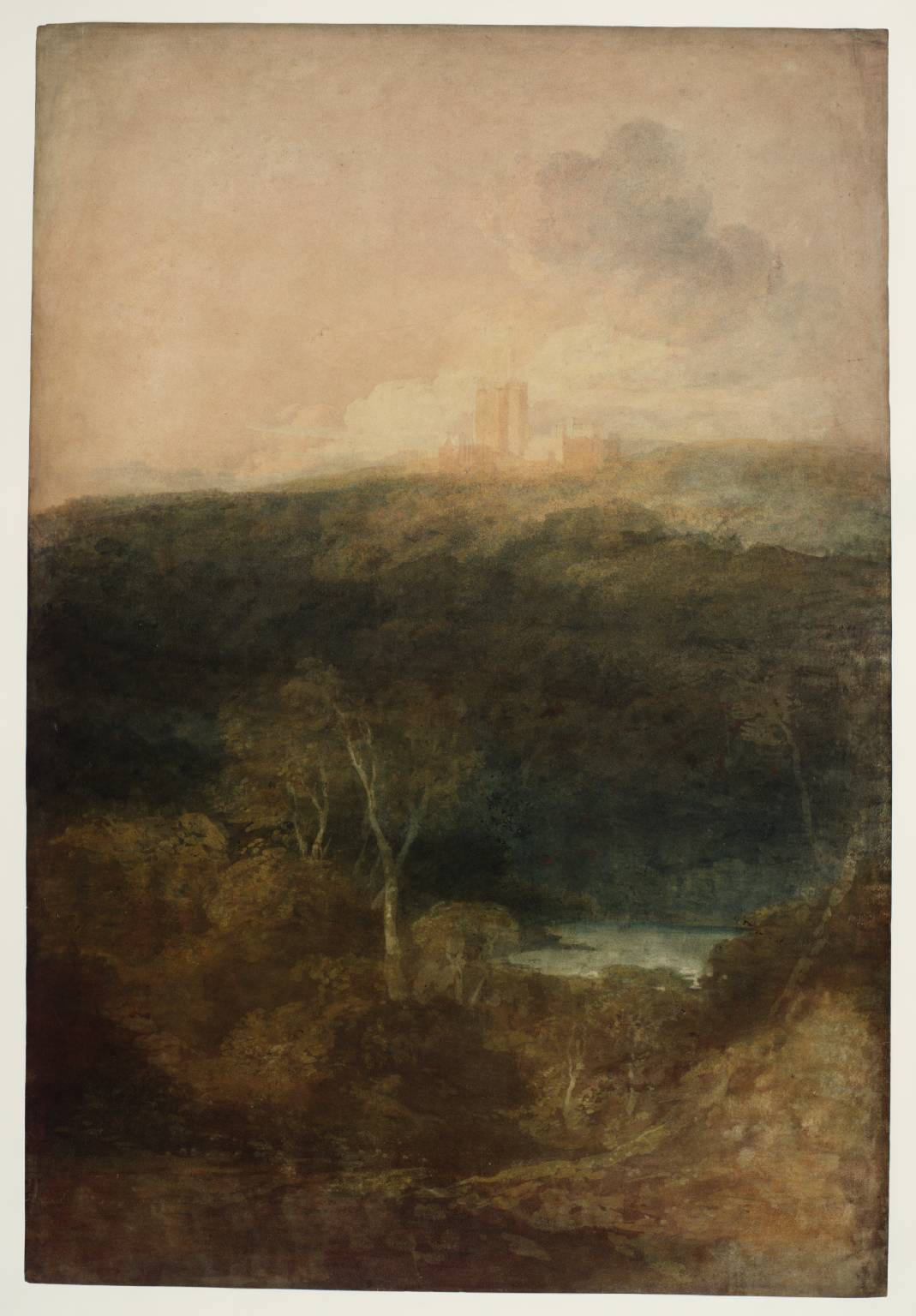 Joseph Mallord William Turner. Views Fonthill Abbey