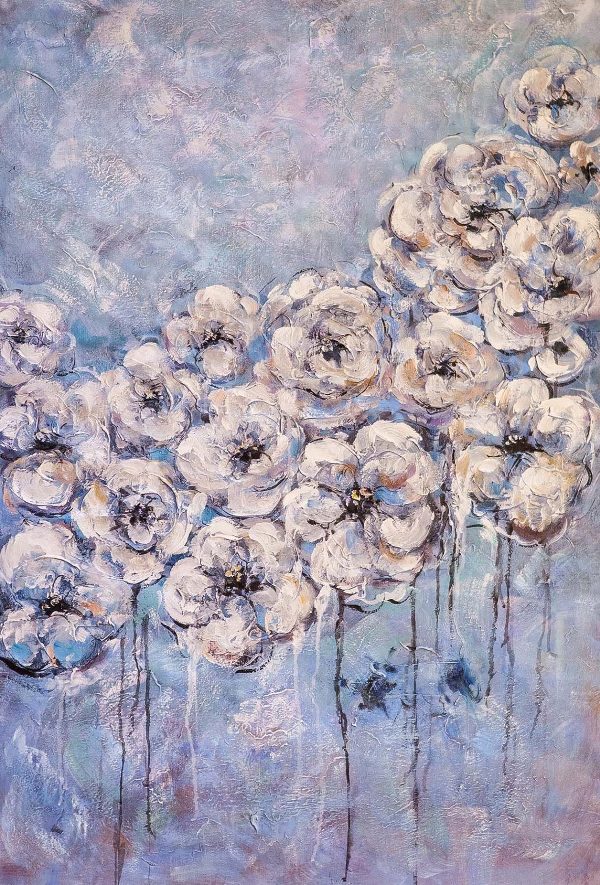 Brian dupre. Floral fleece N2
