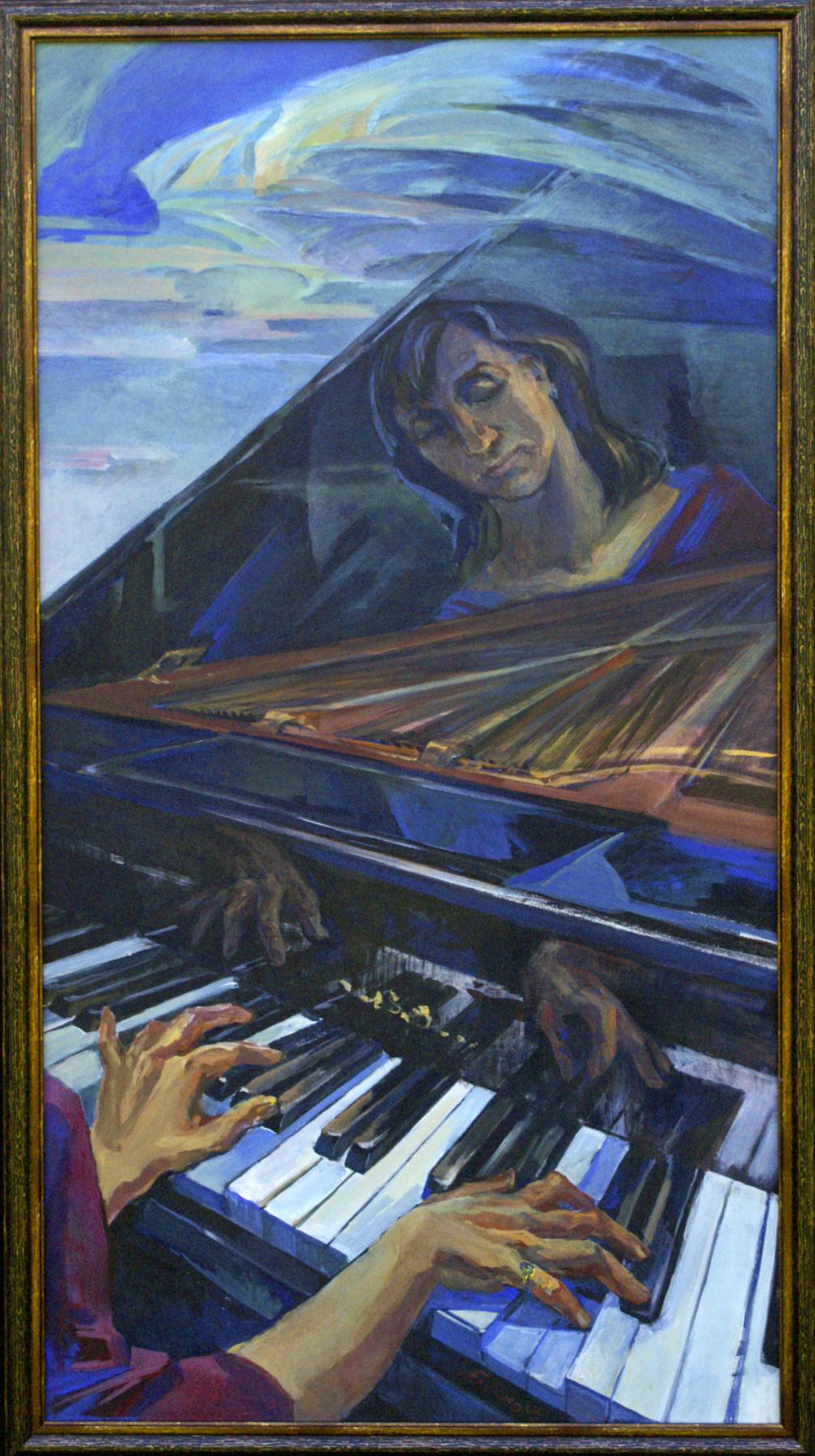 Anna Yuryevna Bosco. Pianist