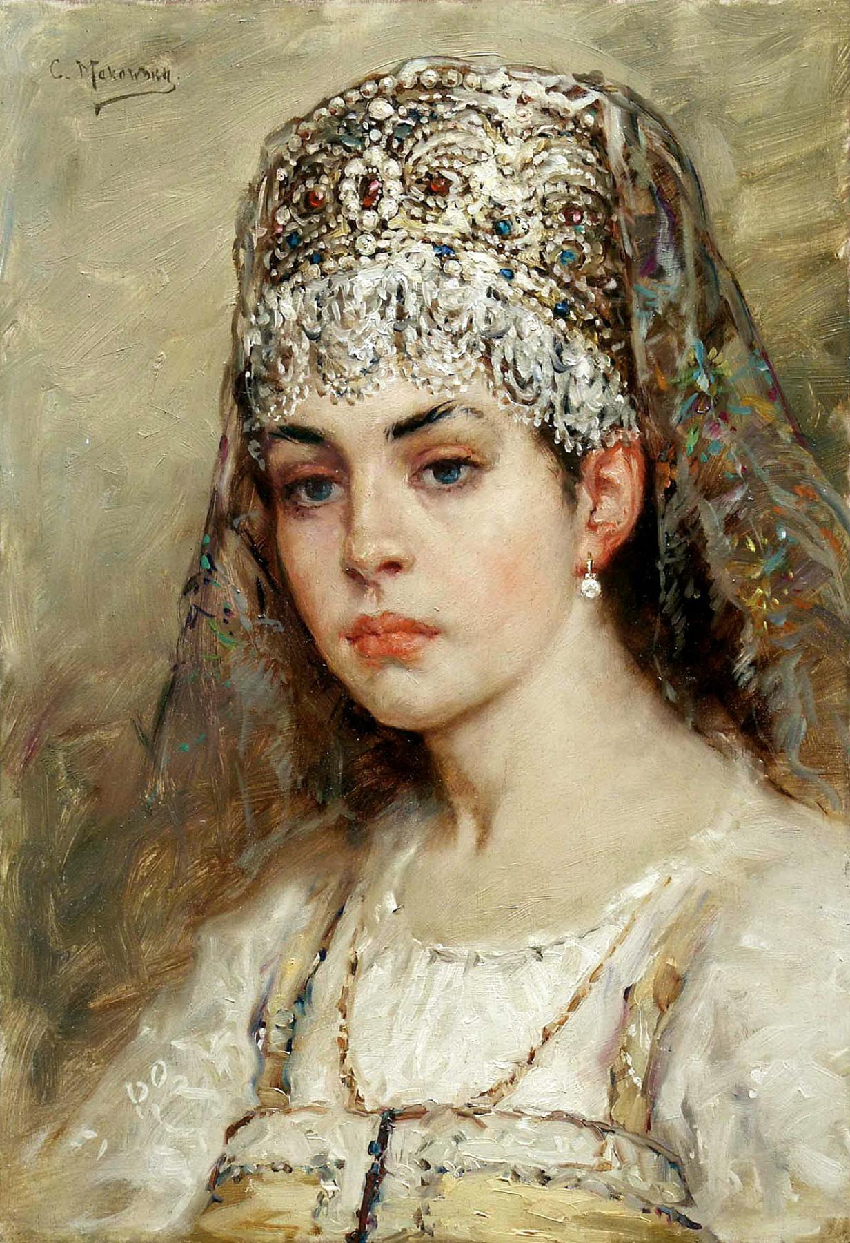 Konstantin Makovsky. The boyar's daughter