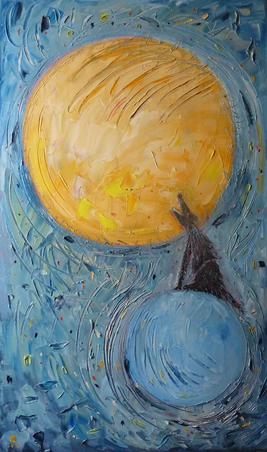 Svyatoslav Ryabkin. Moon and Earth Moon and Earth