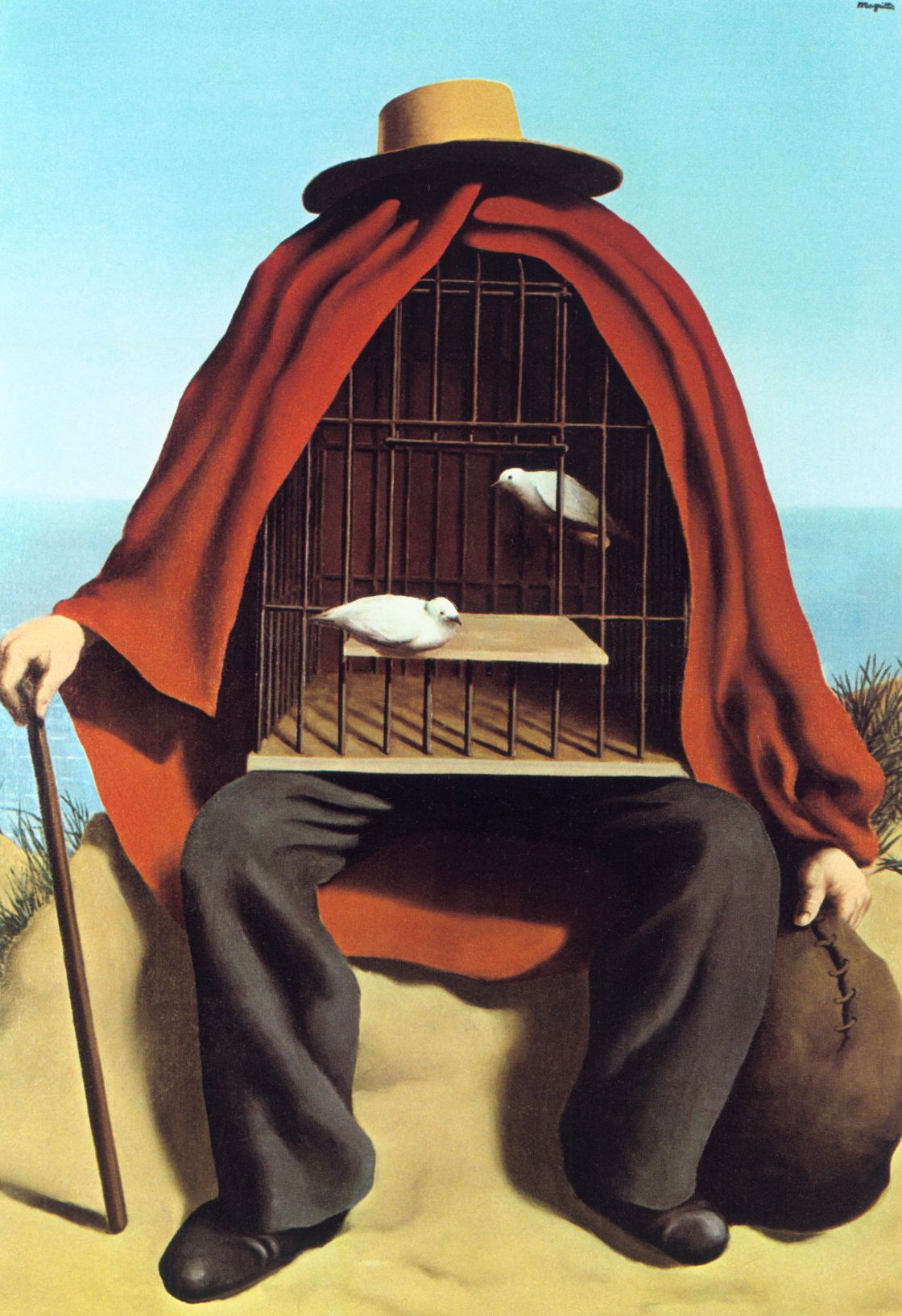 René Magritte. The therapeutist