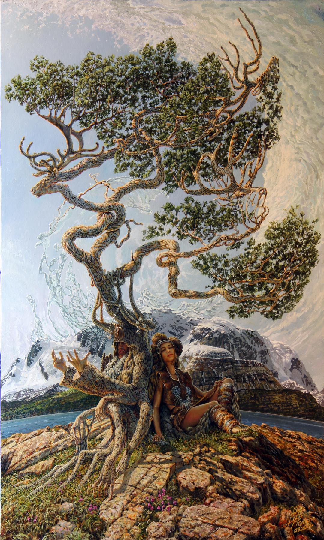 Georgy Ineshin. Dream tree