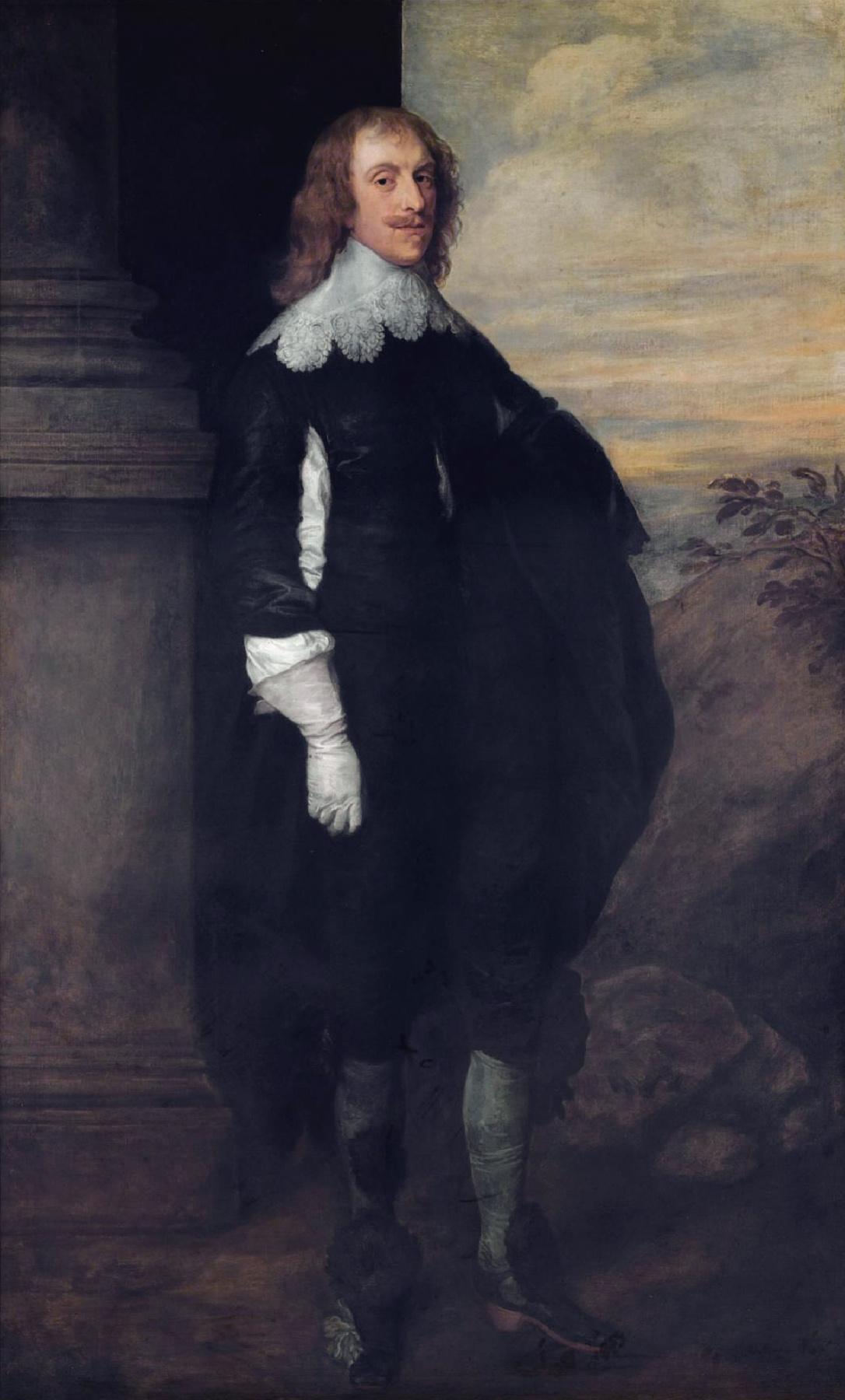 Anthony van Dyck. James hay, 2nd Earl Carlisle
