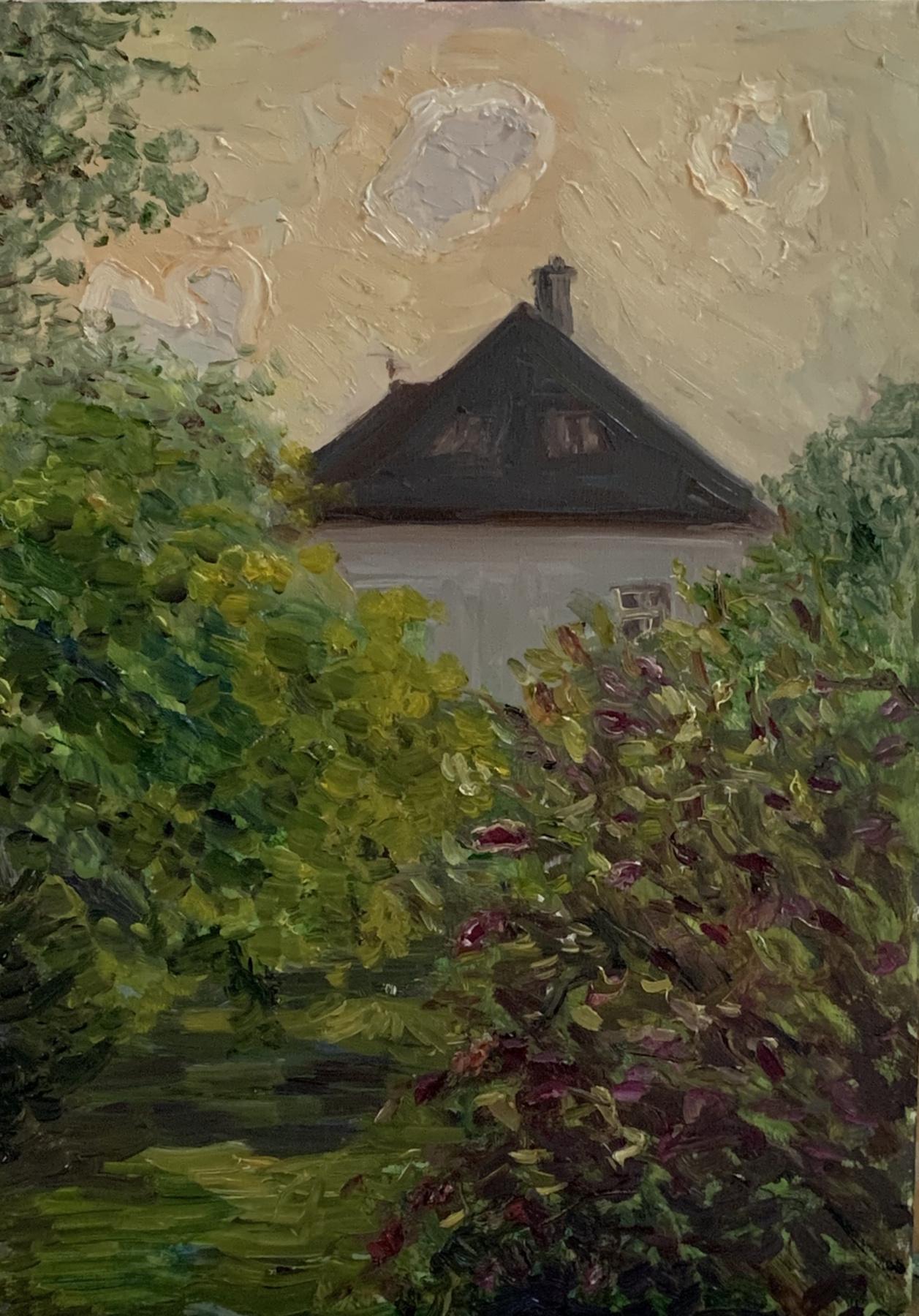 Victoria Malshakova. Evening light. Buddley of David.