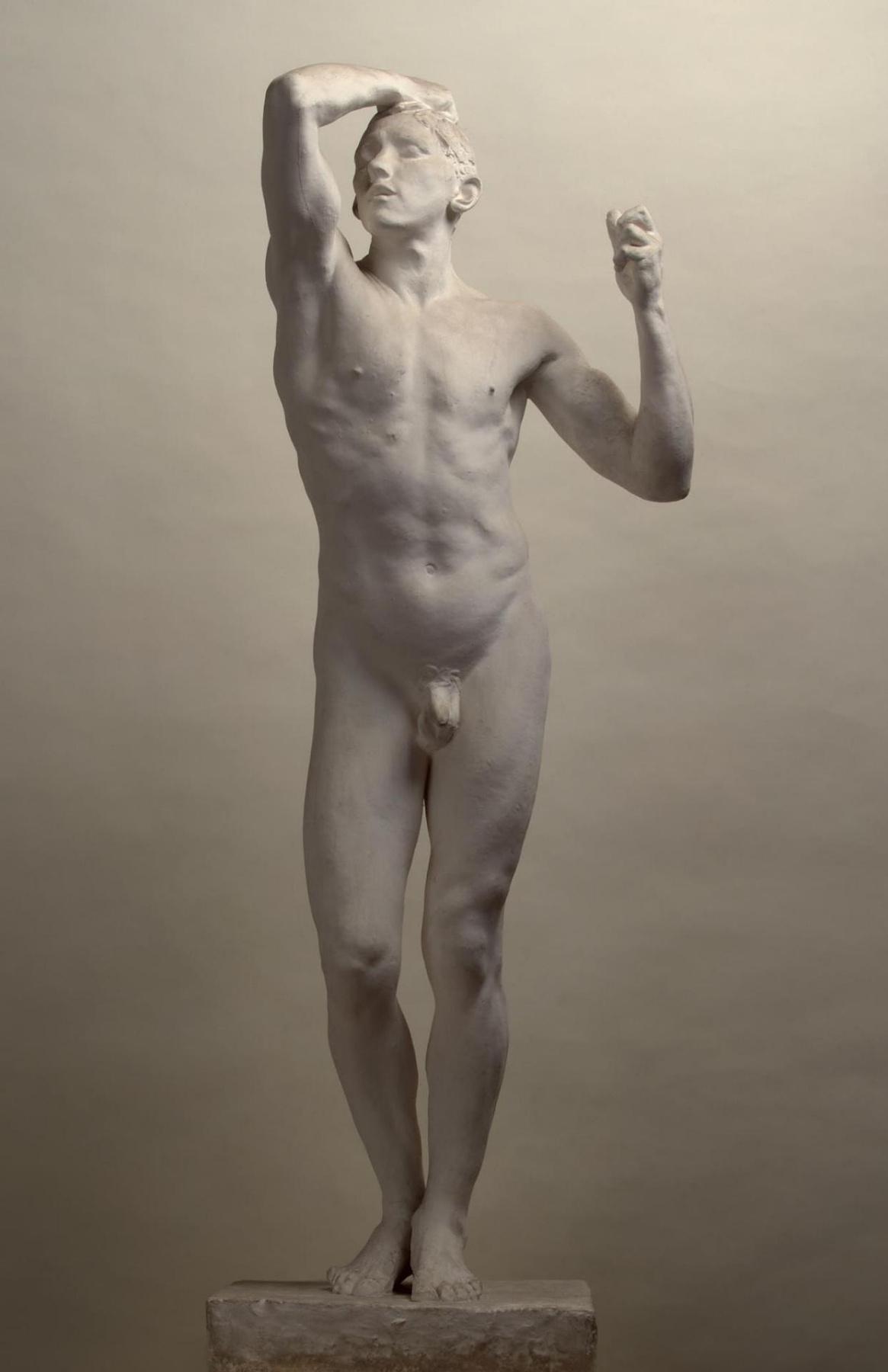 Auguste Rodin. Bronze age