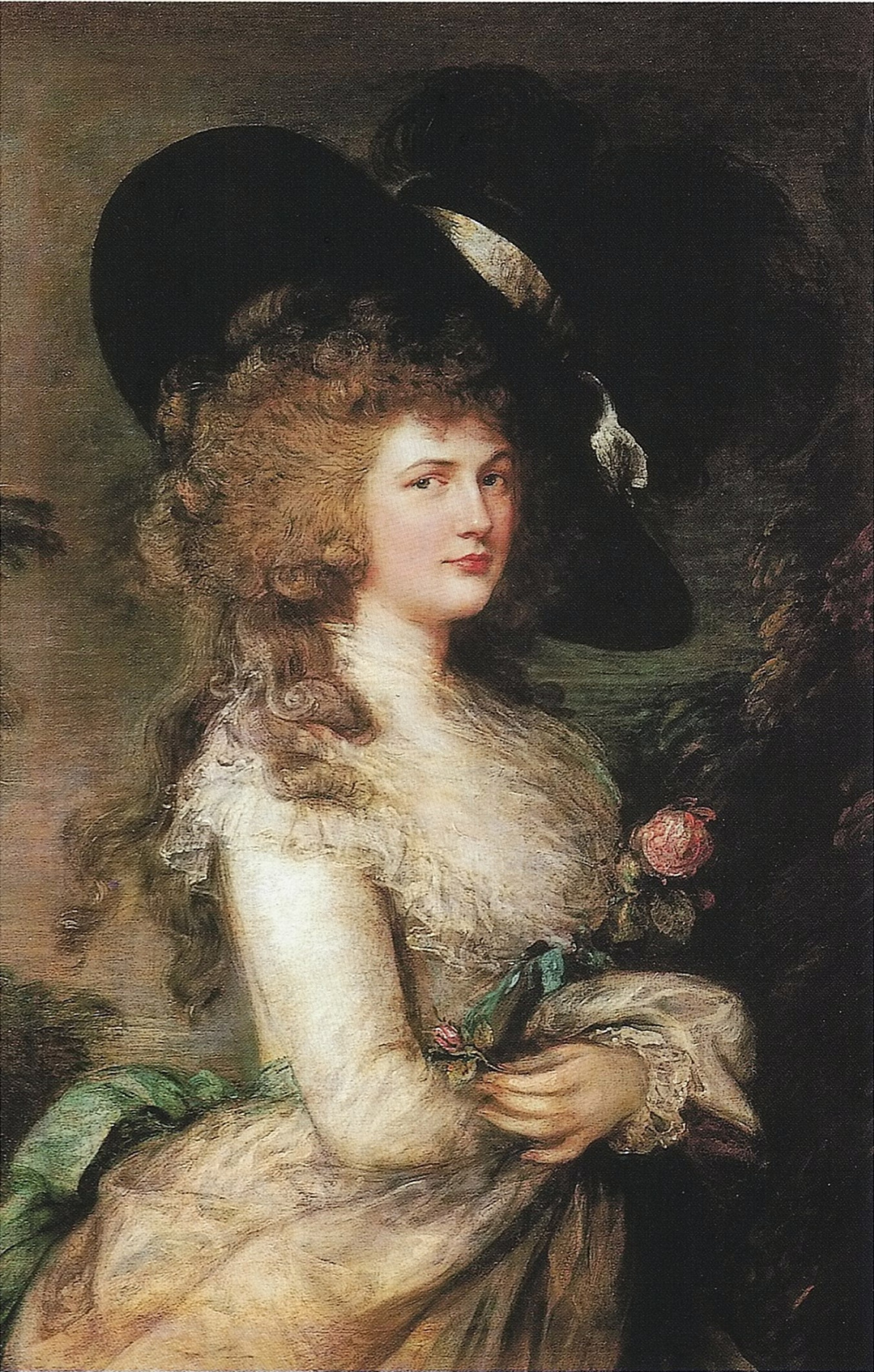Thomas Gainsborough. Portrait Georgiana, Duchess of Devonshire