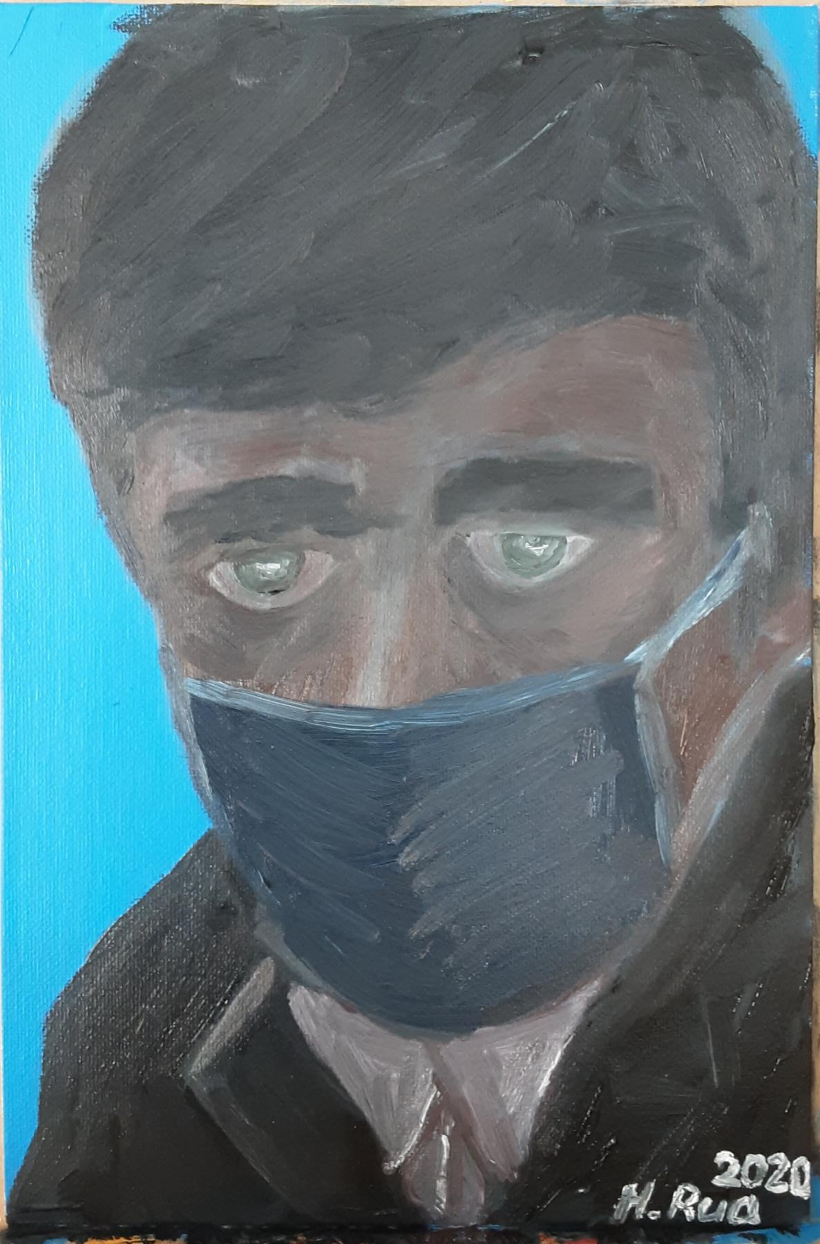 Henry Rua. Modern portrait