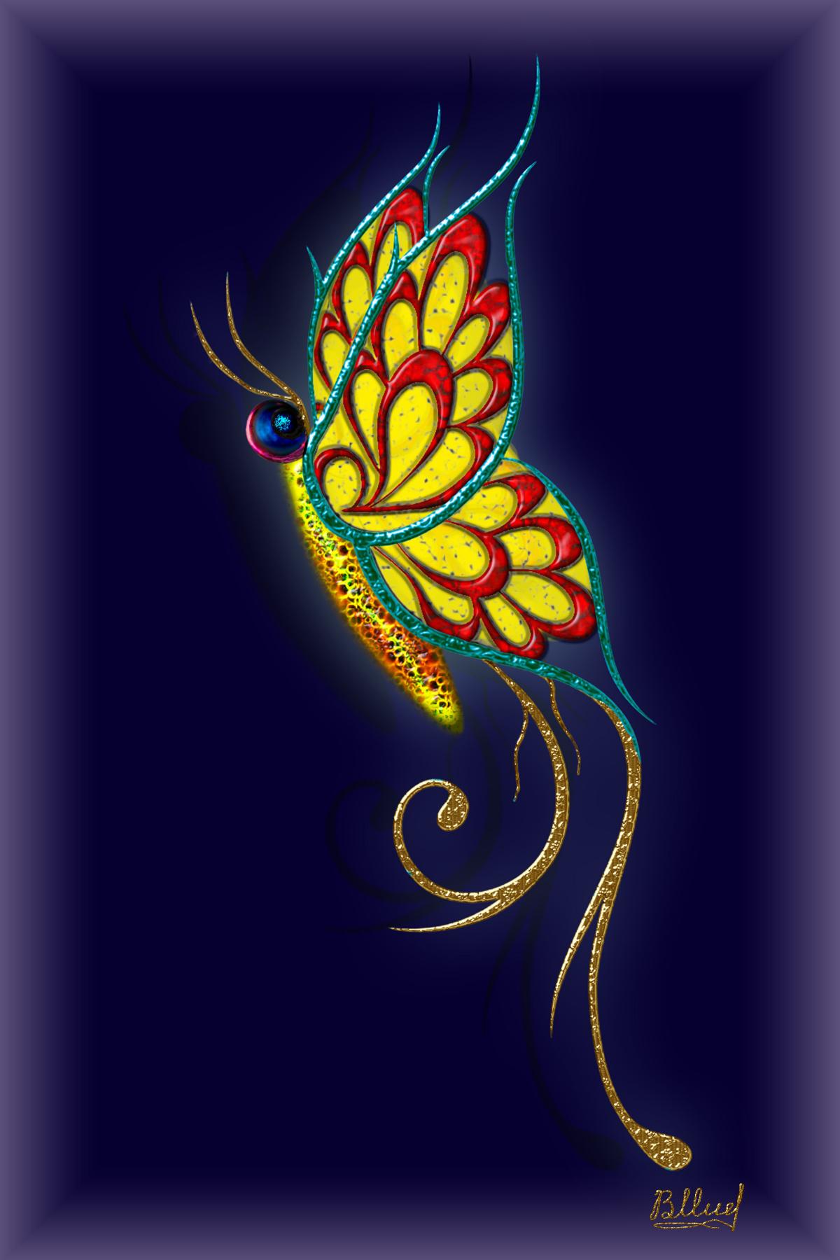 Vasiliy Mishchenko. Butterfly 0104