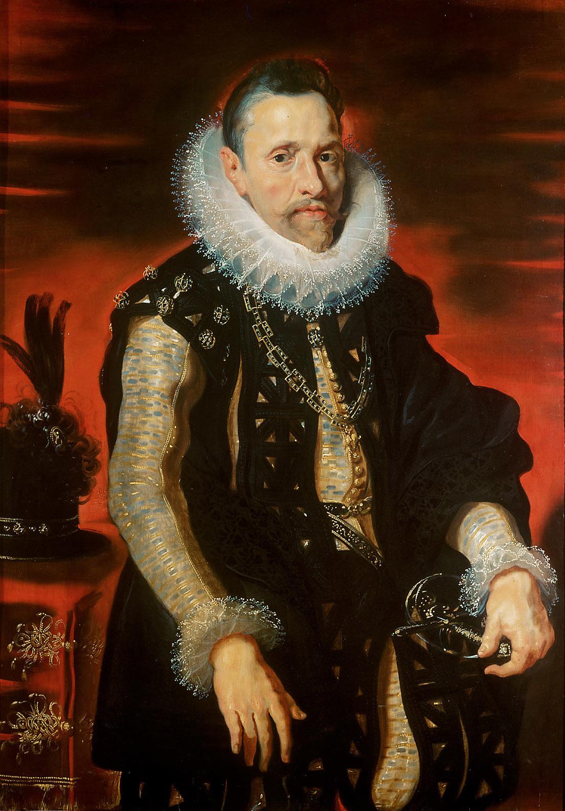 Peter Paul Rubens. Portrait of Archduke Albrecht VII, Saltwater Spain of the Netherlands