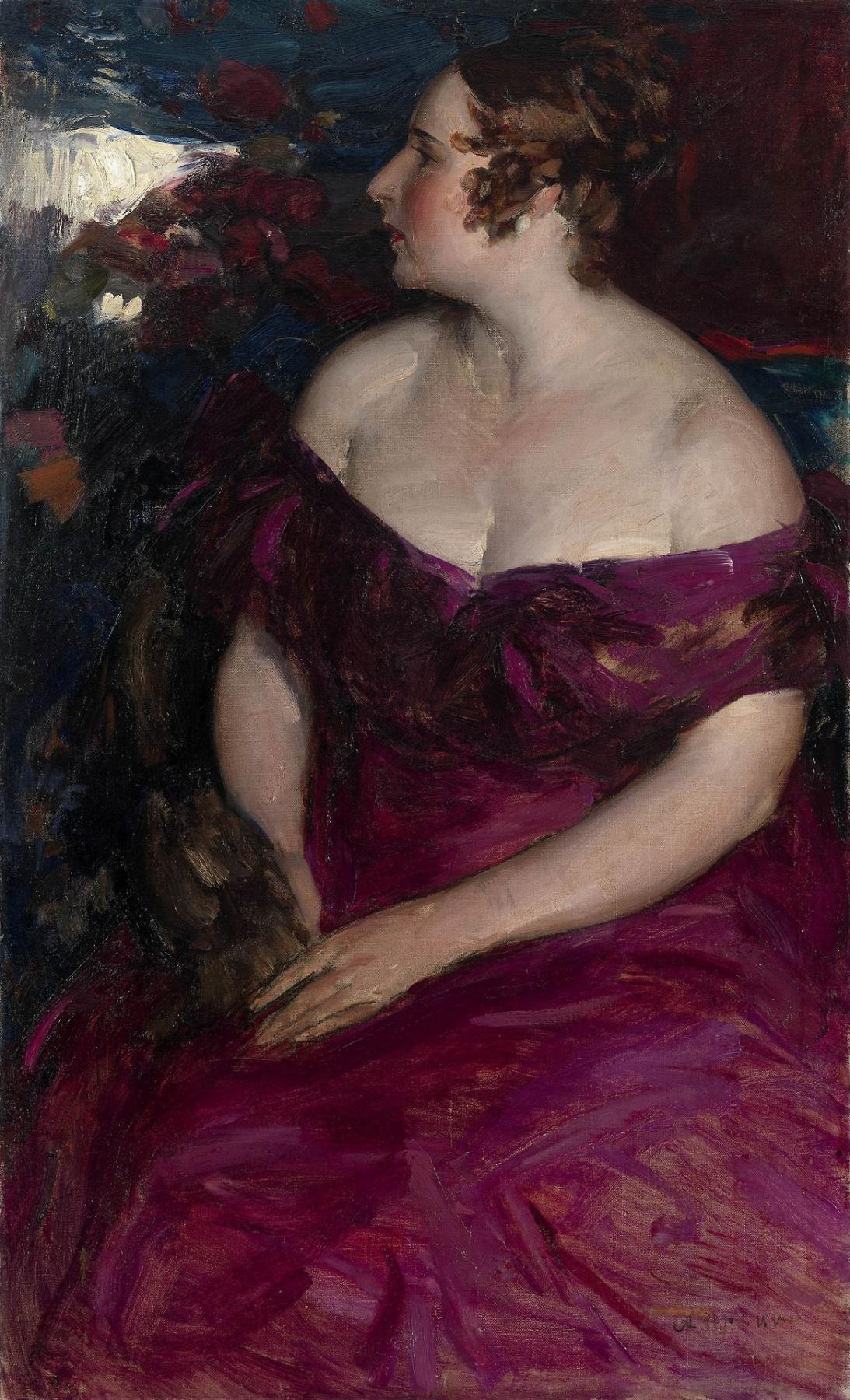 Abram Arkhipov. Female portrait