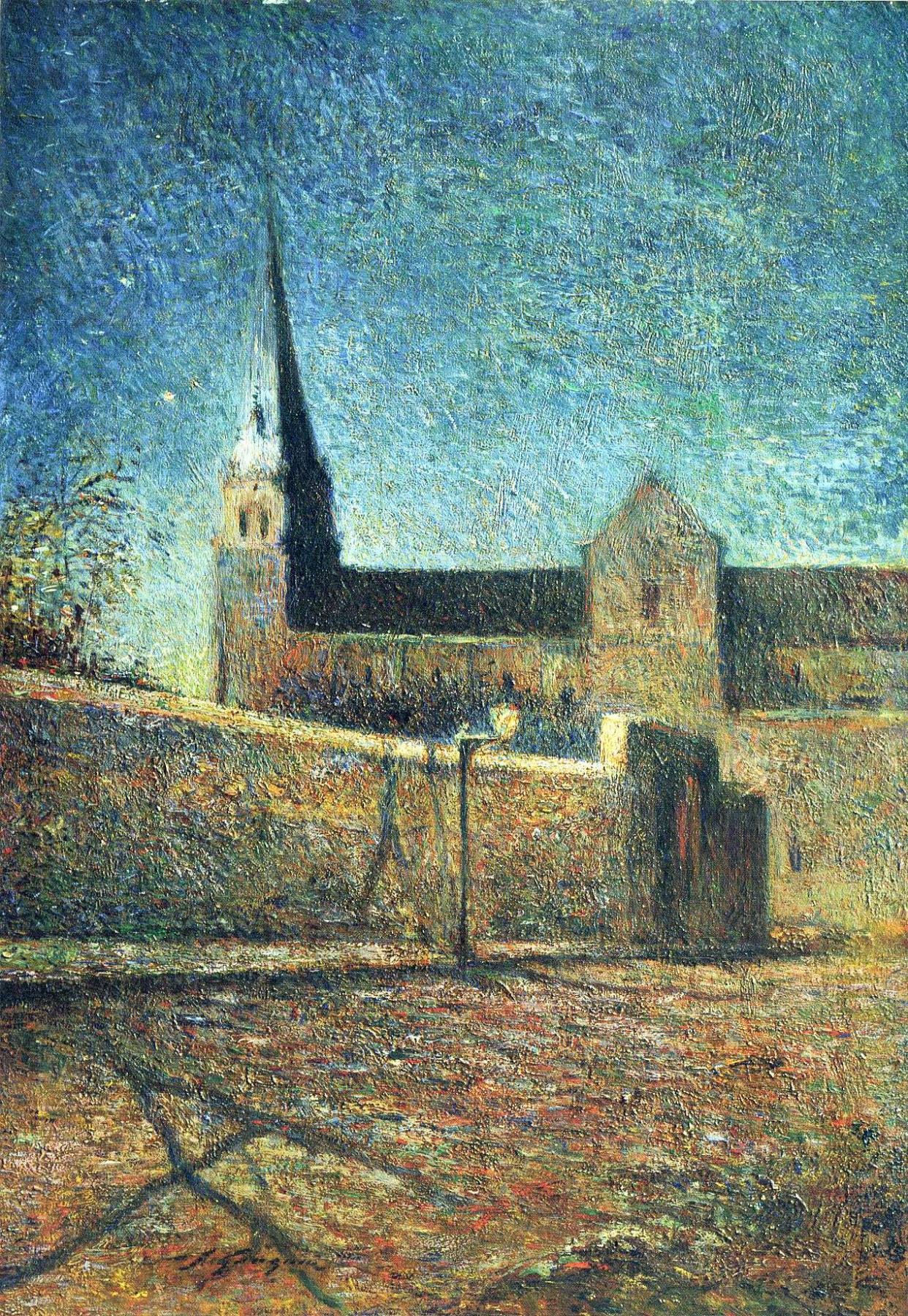Paul Gauguin. The Church Of Vaugirard