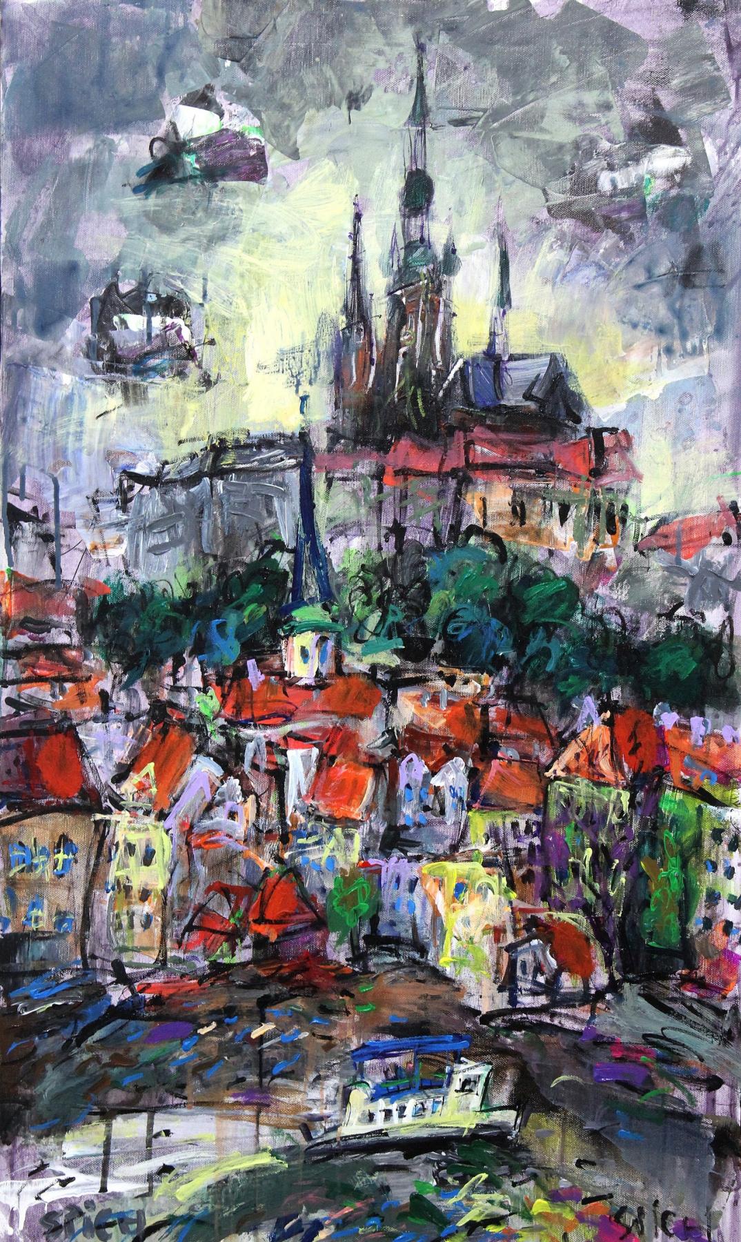 Ilya Pavlovich Spichenkov. Memories of Prague