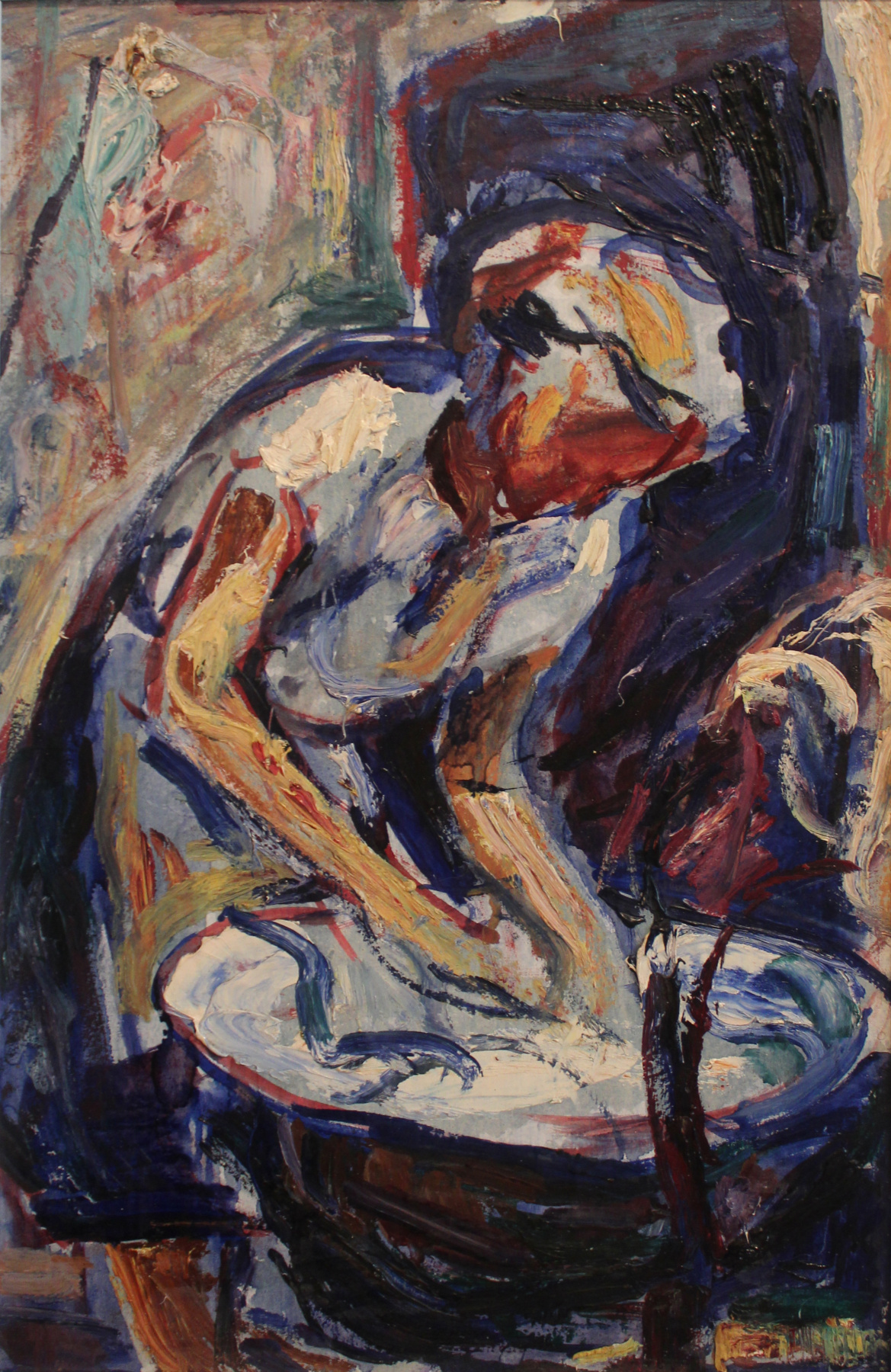Victor Fedorovich Chudin. Washing
