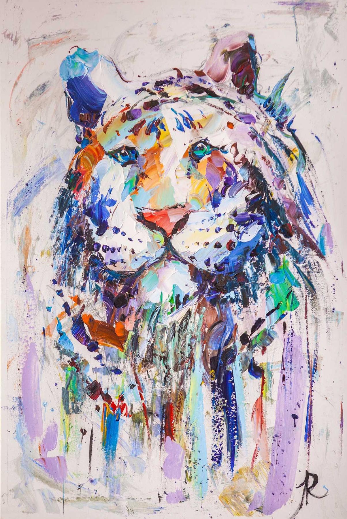 Jose Rodriguez. White tiger