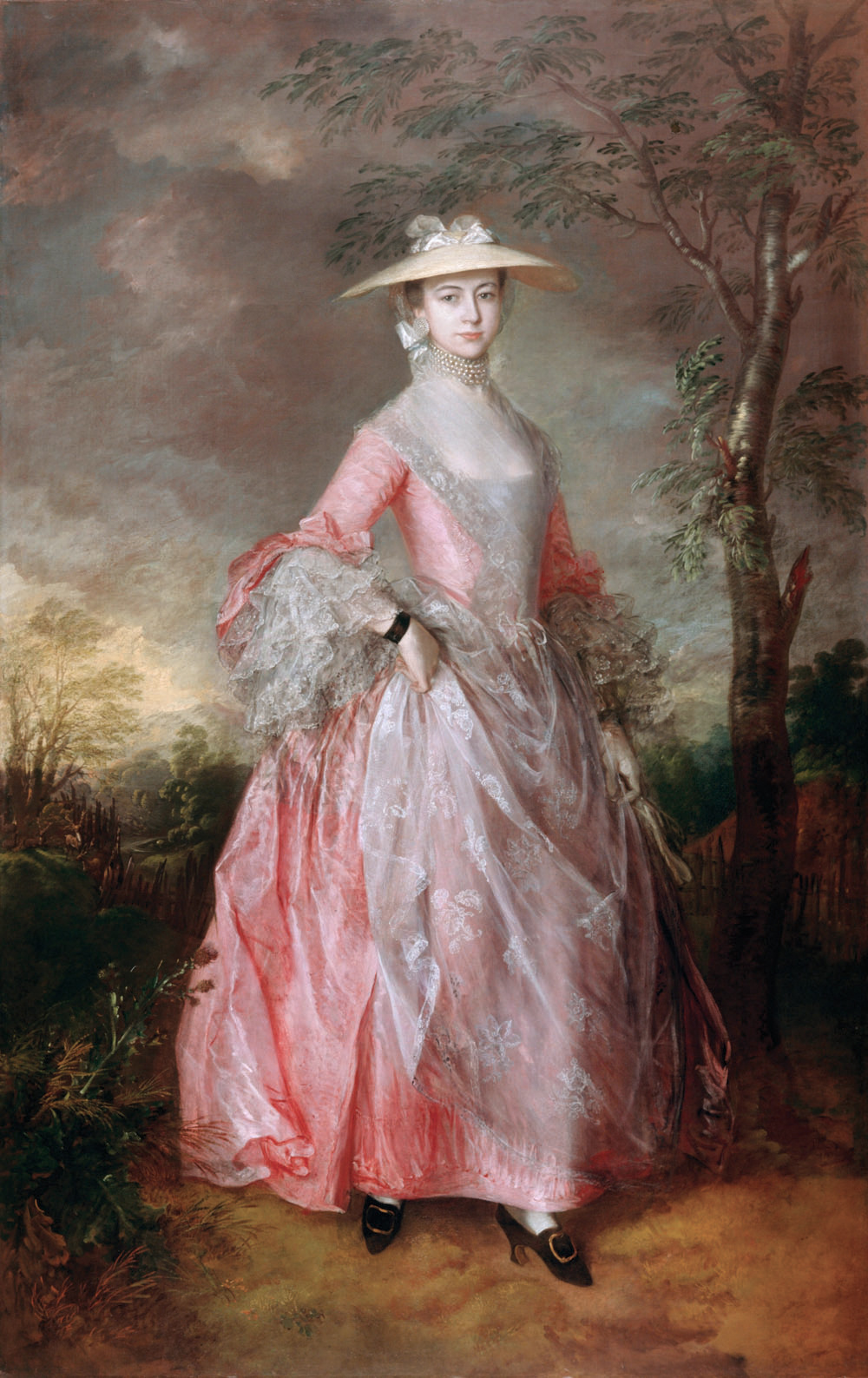 Thomas Gainsborough. Portrait of Mary Countess Howe